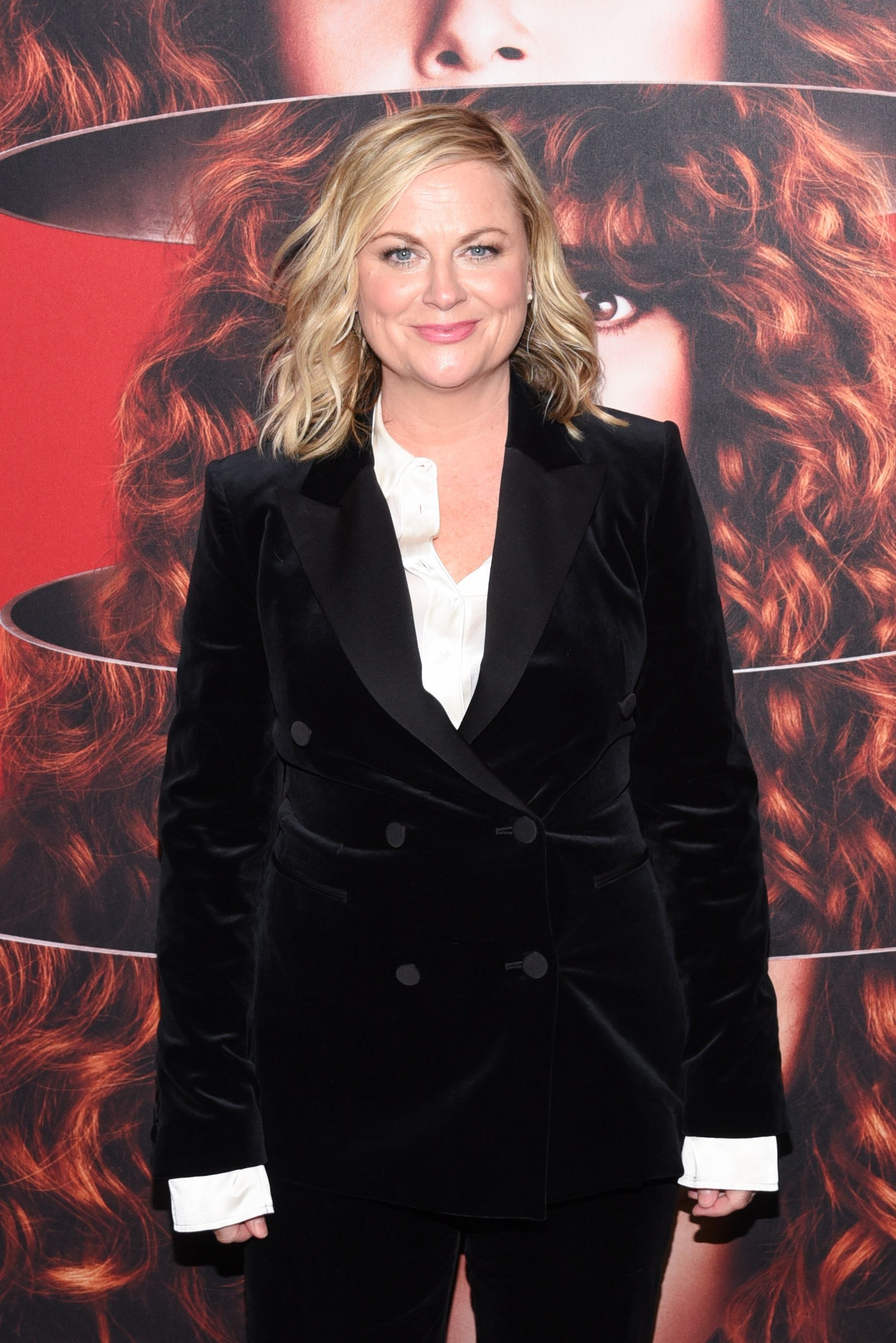 """Amy Poehler attends the """"Russian Doll"""" TV show season premiere in New York City on Jan. 23, 2019."""