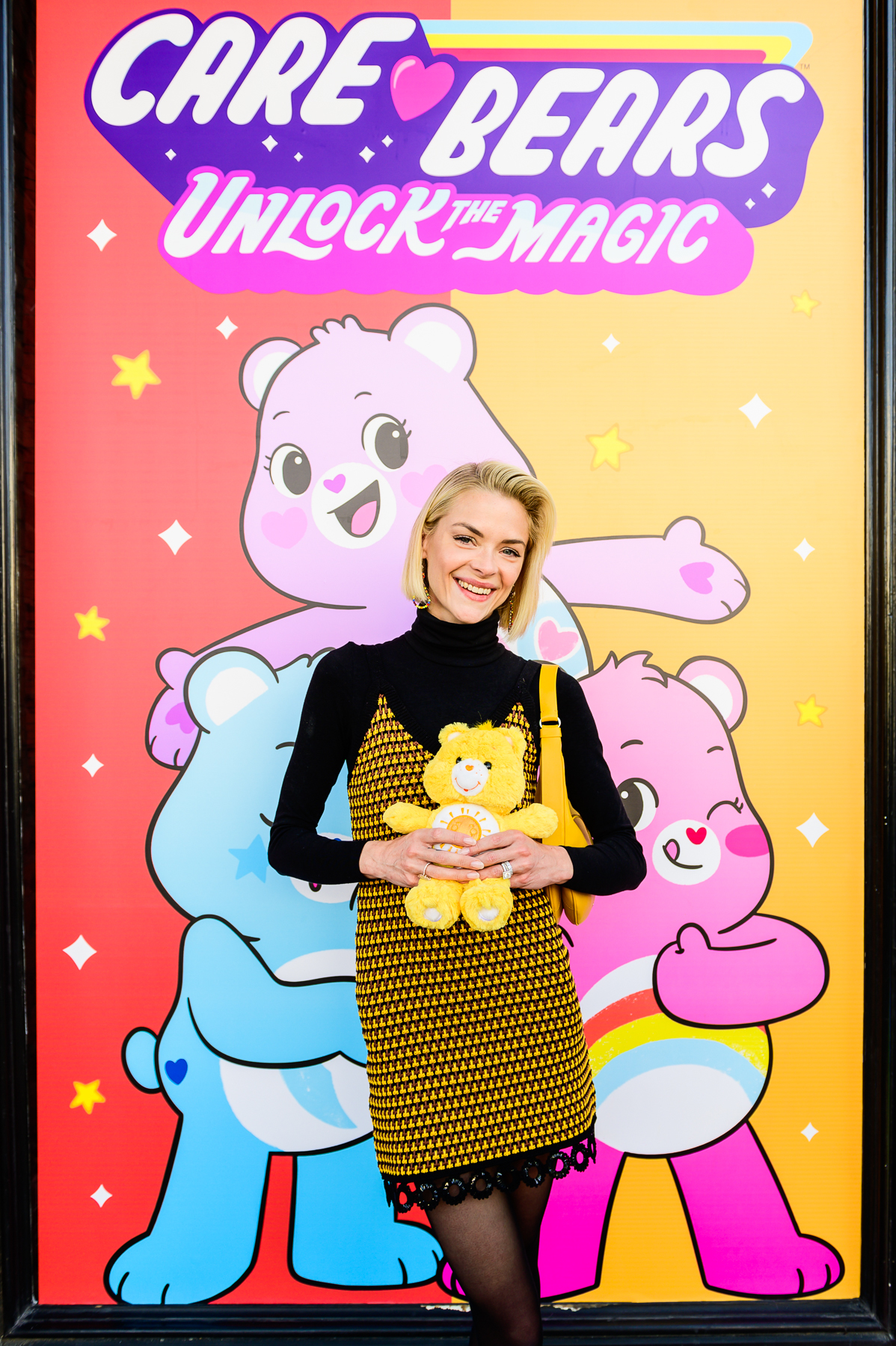 "Jaime King attends the ""Care Bears: Unlock the Magic"" launch party in Santa Monica on  Jan. 26, 2019."