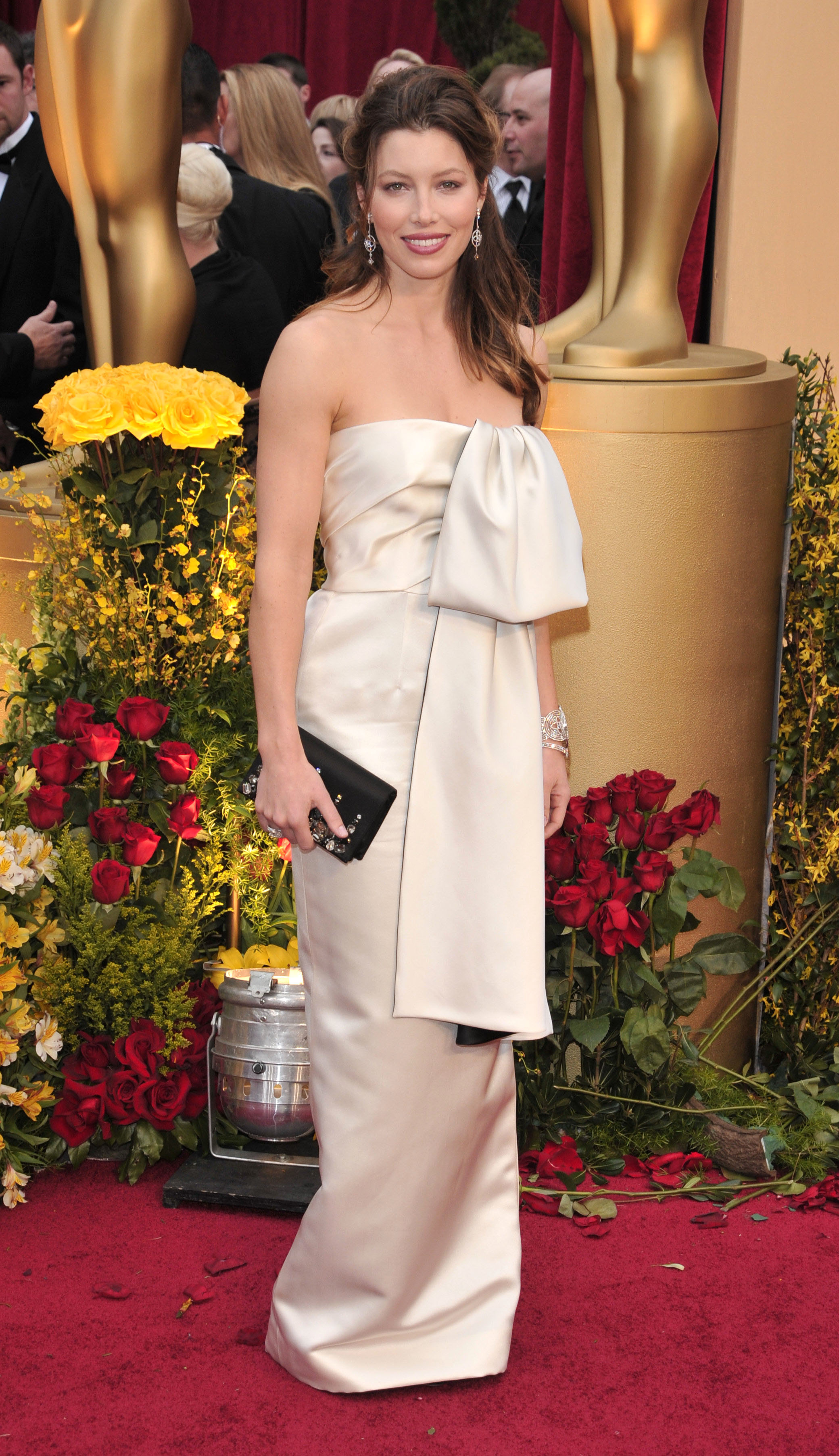 Jessica Biel attends the 81st Annual Academy Awards in Los Angeles on Feb. 22, 2009.