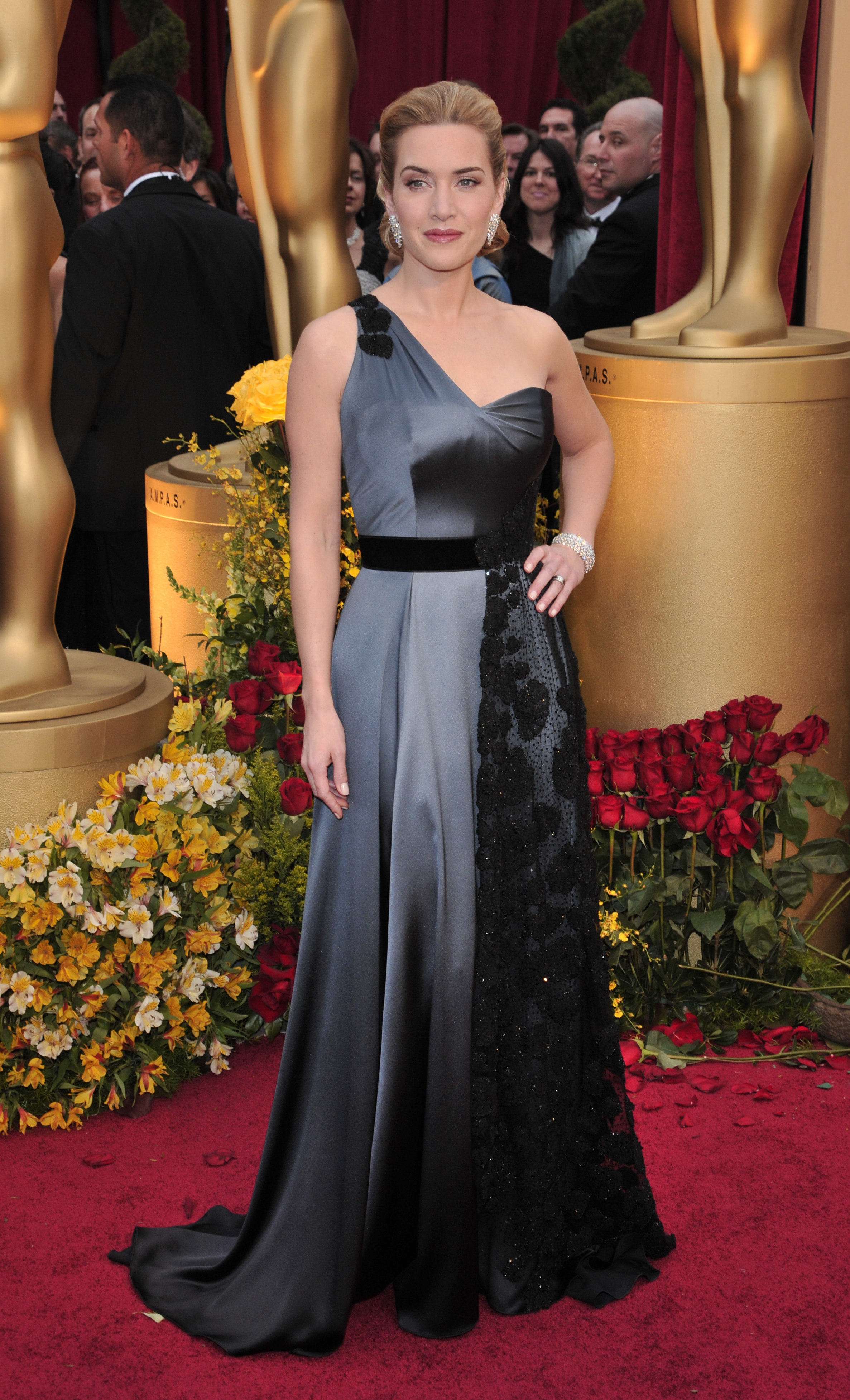 Kate Winslet attends the 81st Annual Academy Awards in Los Angeles on Feb. 22, 2009.