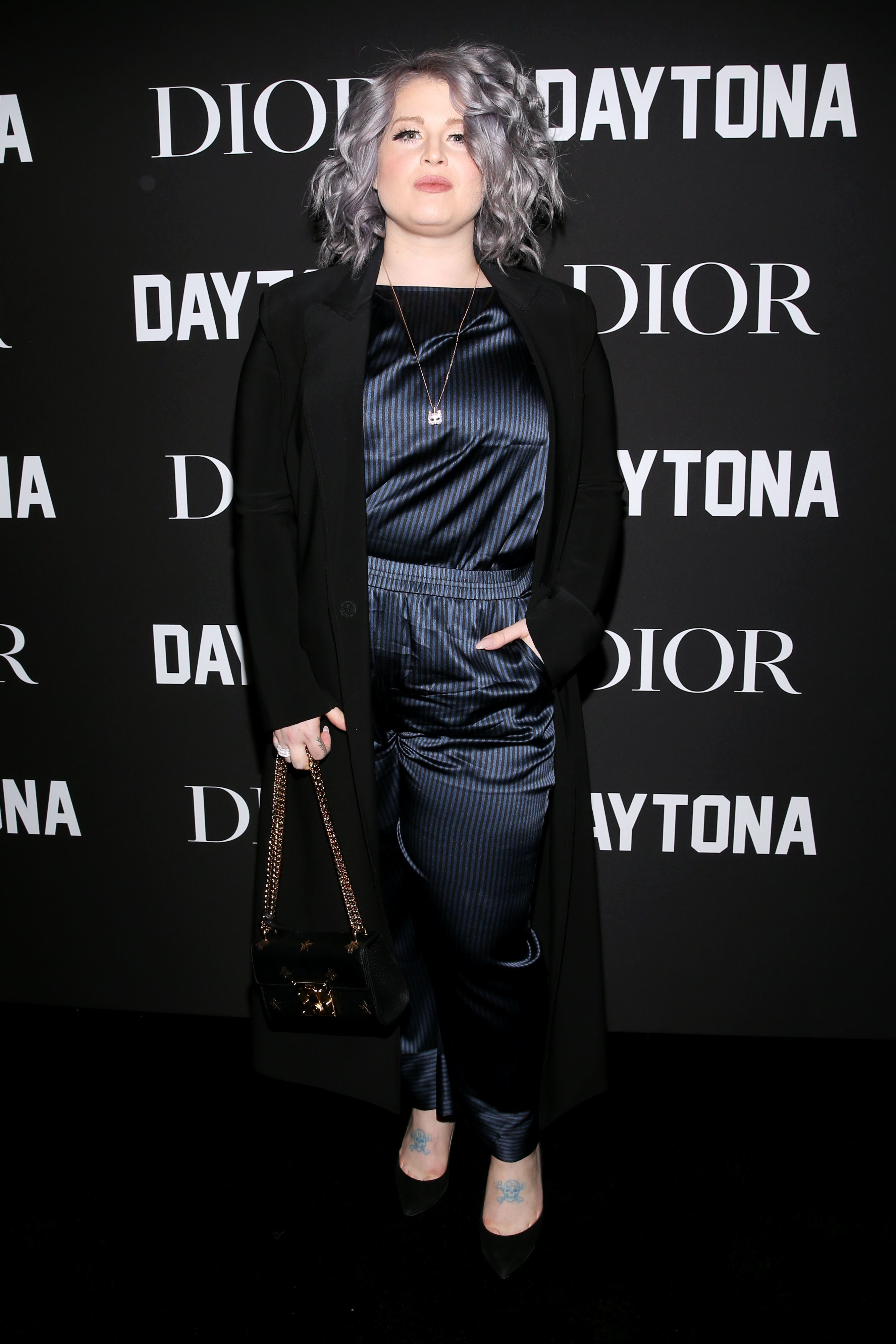 Kelly Osbourne attends the Dior x Grammys Party in Los Angeles on Feb. 8, 2019.