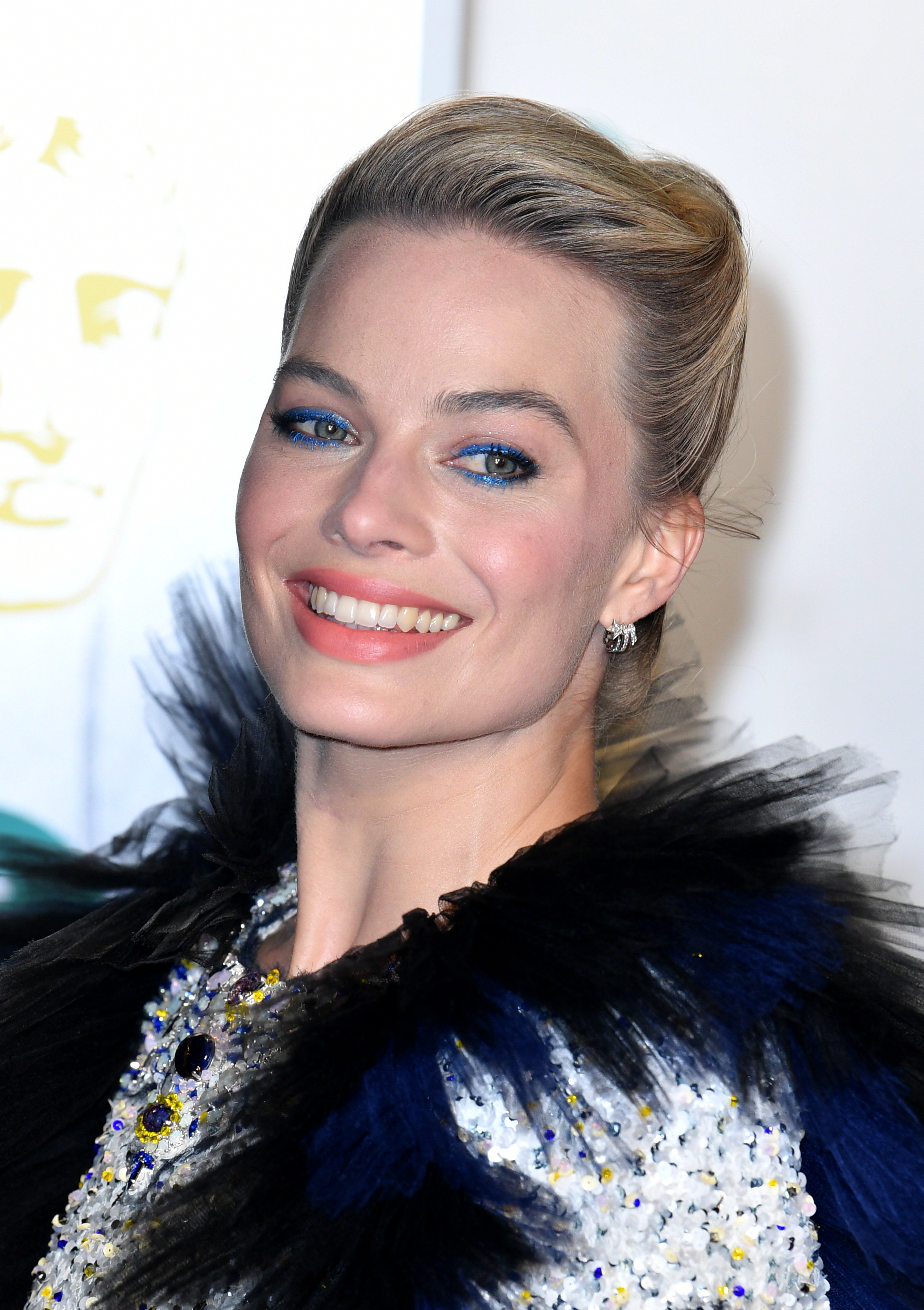 Margot Robbie attends the 72nd British Academy Film Awards in London on Feb. 10, 2019.