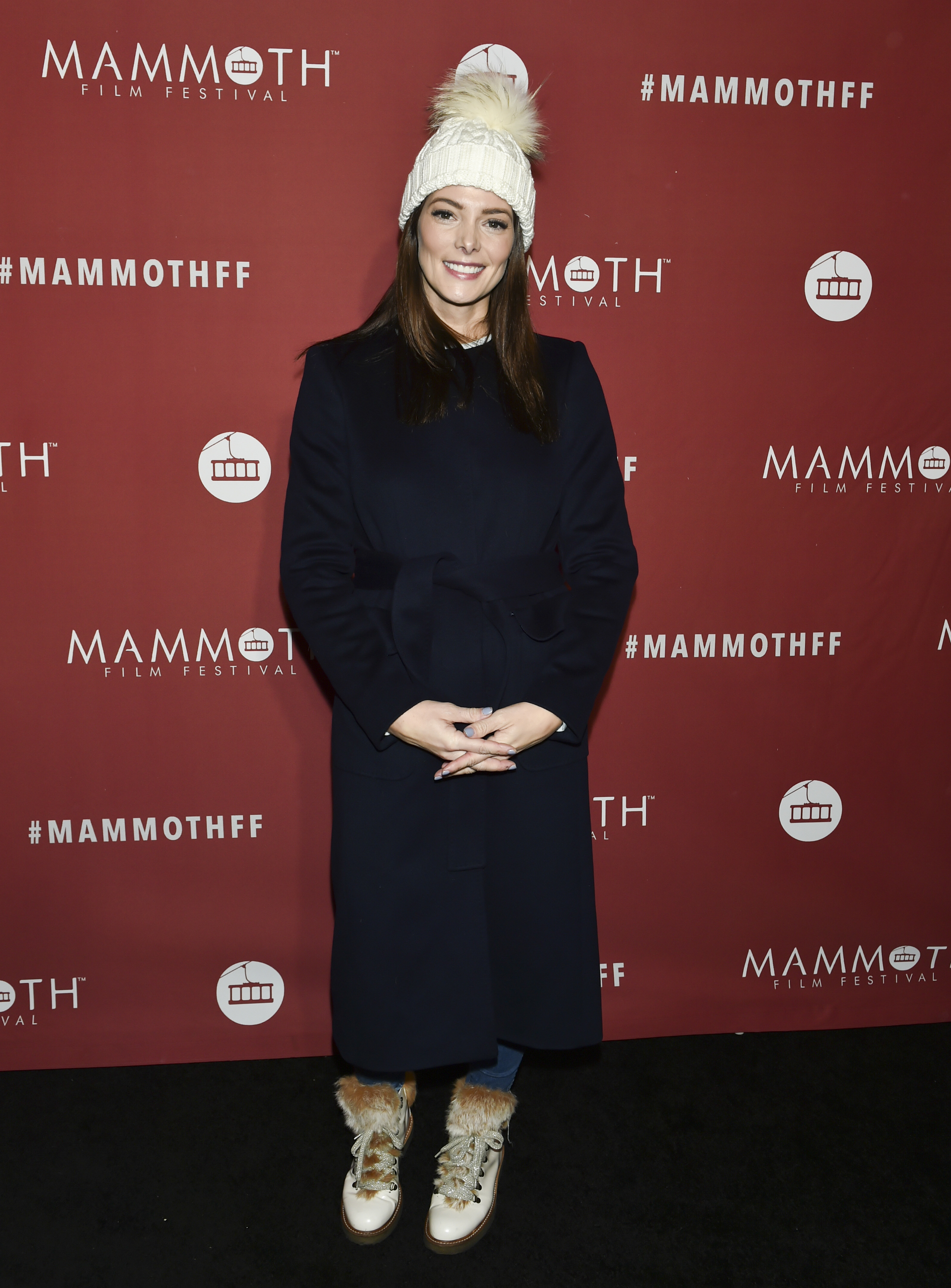 """Ashley Greene attends the Mammoth Film Festival premiere of """"Buddy Games"""" in Mammoth Lakes, California, on Feb. 10, 2019."""