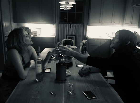 """""""To love @bigbaldhead ♥️ My Valentine ♥️""""   Diane Kruger, who posted this on Feb. 14, 2019."""