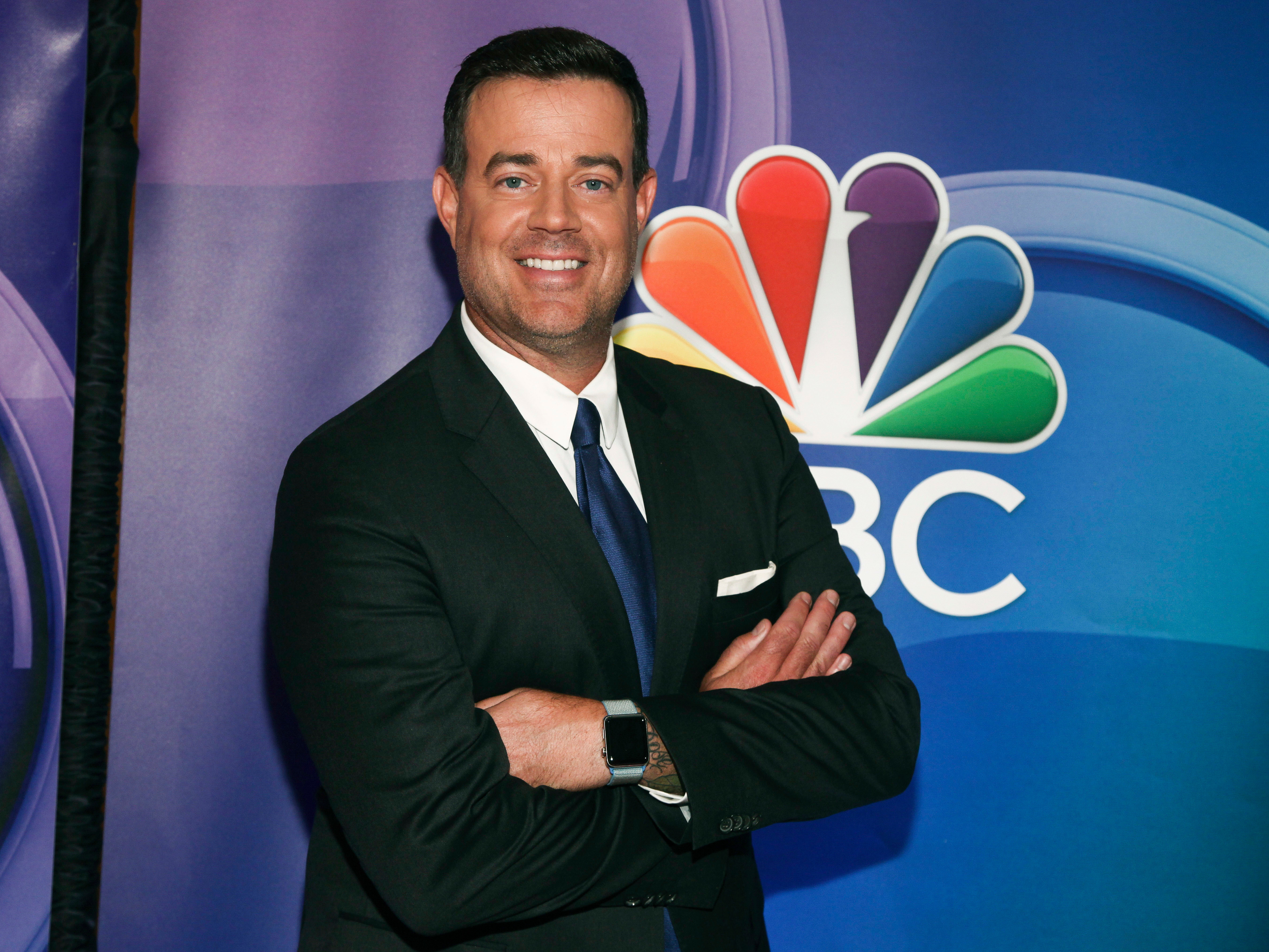 Carson Daly attends NBC's Fall 2018 press junket in New York City on Sept. 6, 2018.