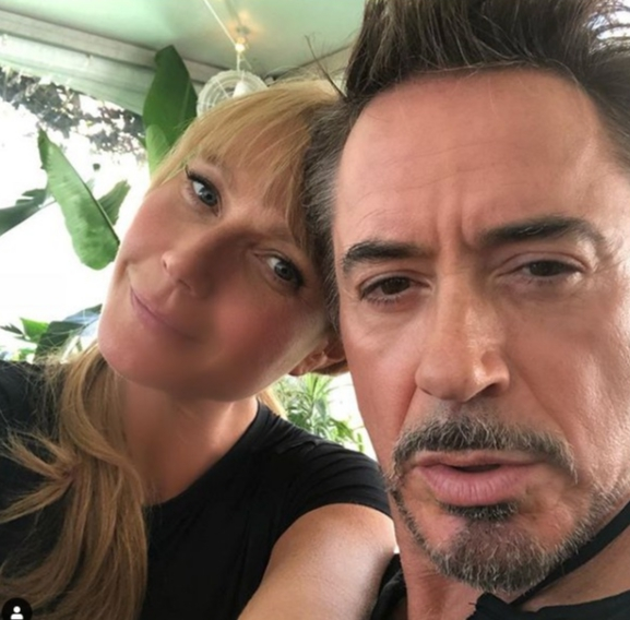 Gwyneth Paltrow shares a cute selfie with longtime pal, Robert Downey, Jr.