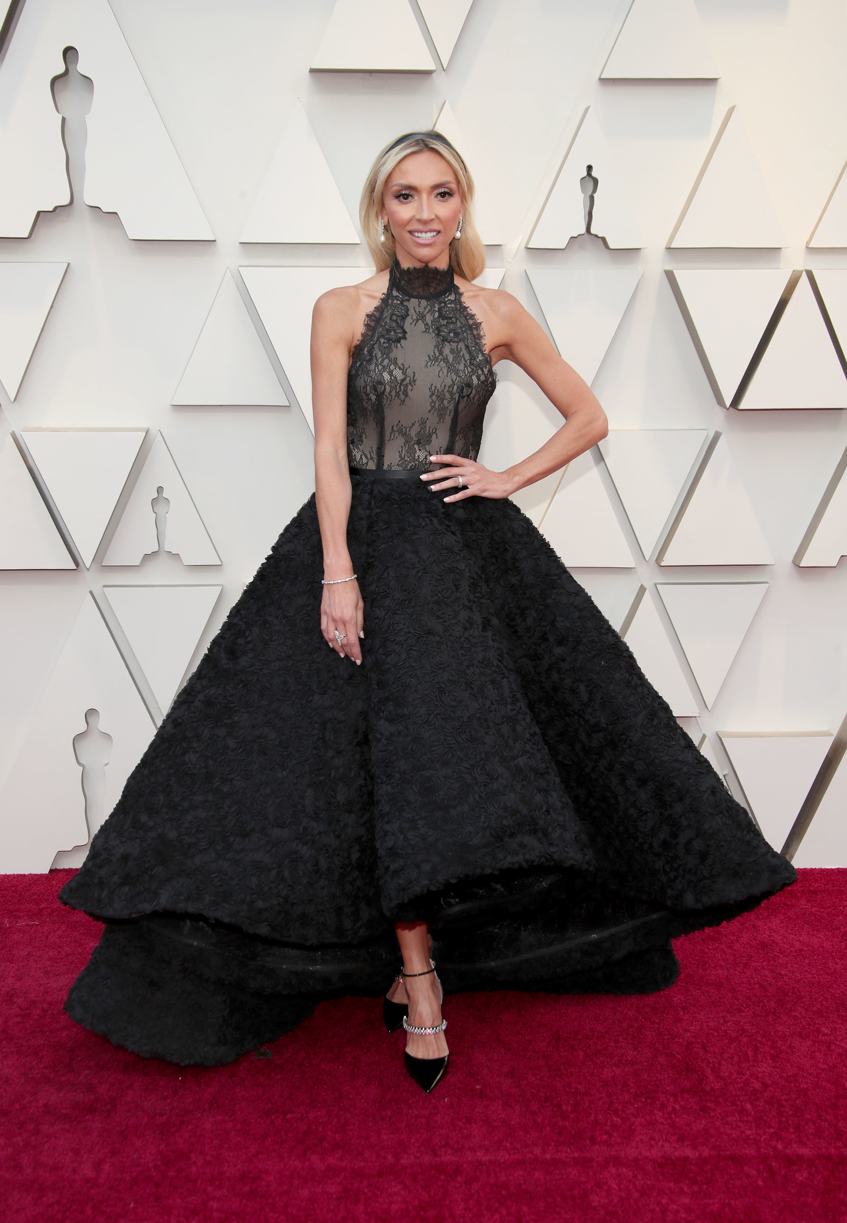 Giuliana Rancic attends the 91st Annual Academy Awards in Los Angeles on Feb. 24, 2019.