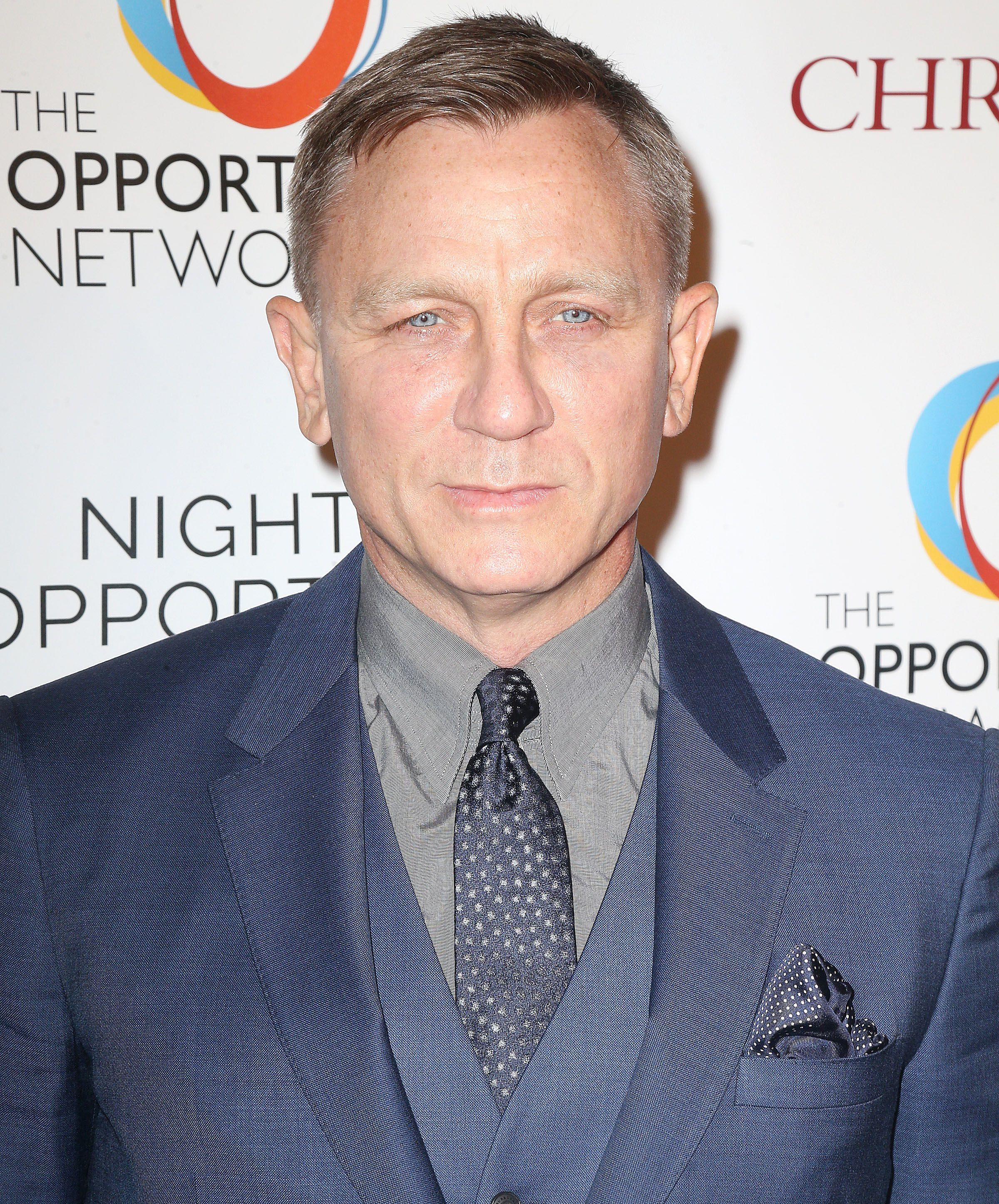 Daniel Craig attends the Night of Opportunity Gala in New York City on April 9, 2018.