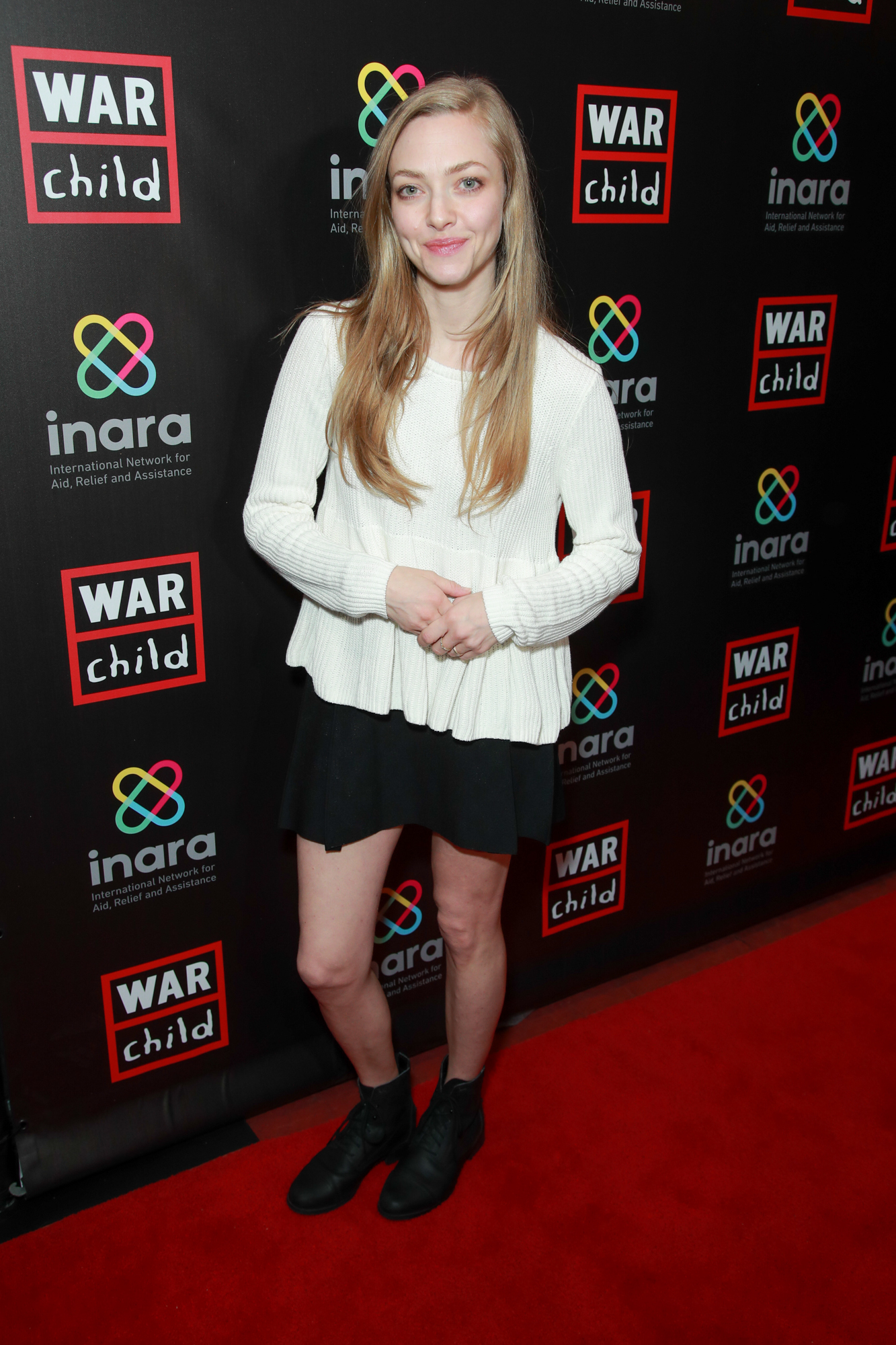 Amanda Seyfried attends the Good For A Laugh comedy fundraiser to support children affected by war at Largo At The Coronet in Los Angeles on March 01, 2019.