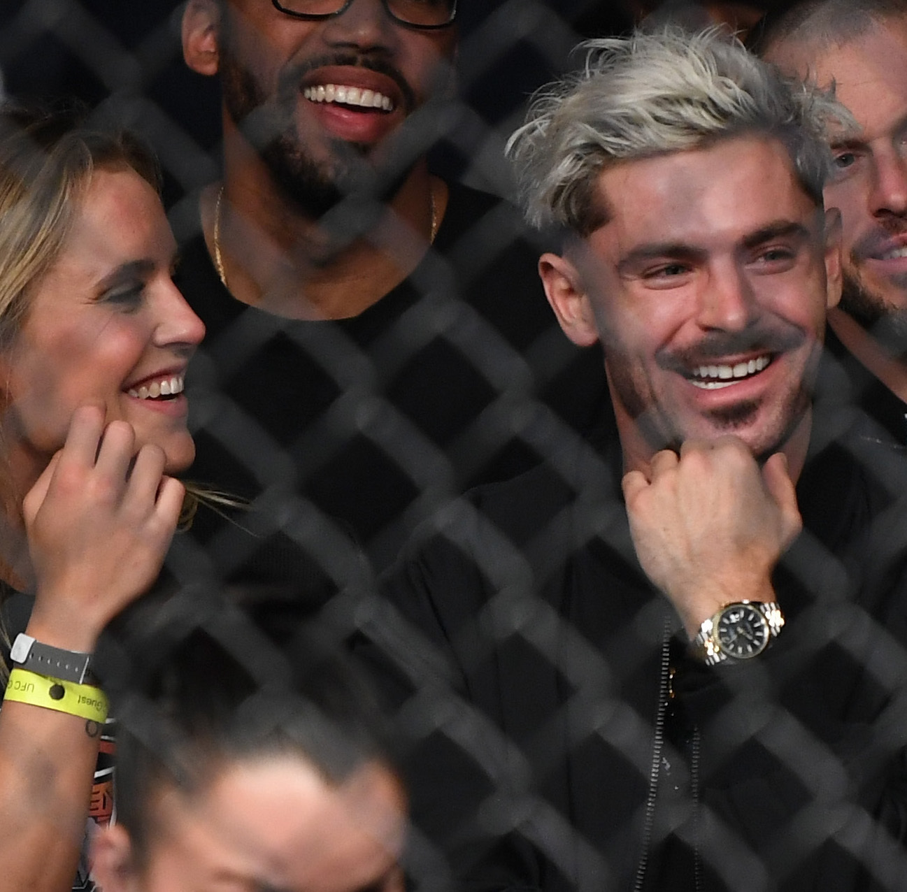 Zac Efron and Olympic swimmer Sarah Bro fuel romance rumors at UFC fight