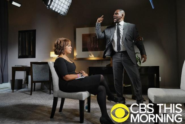R. Kelly explodes during CBS interview, faces new rape accusations in Detroit