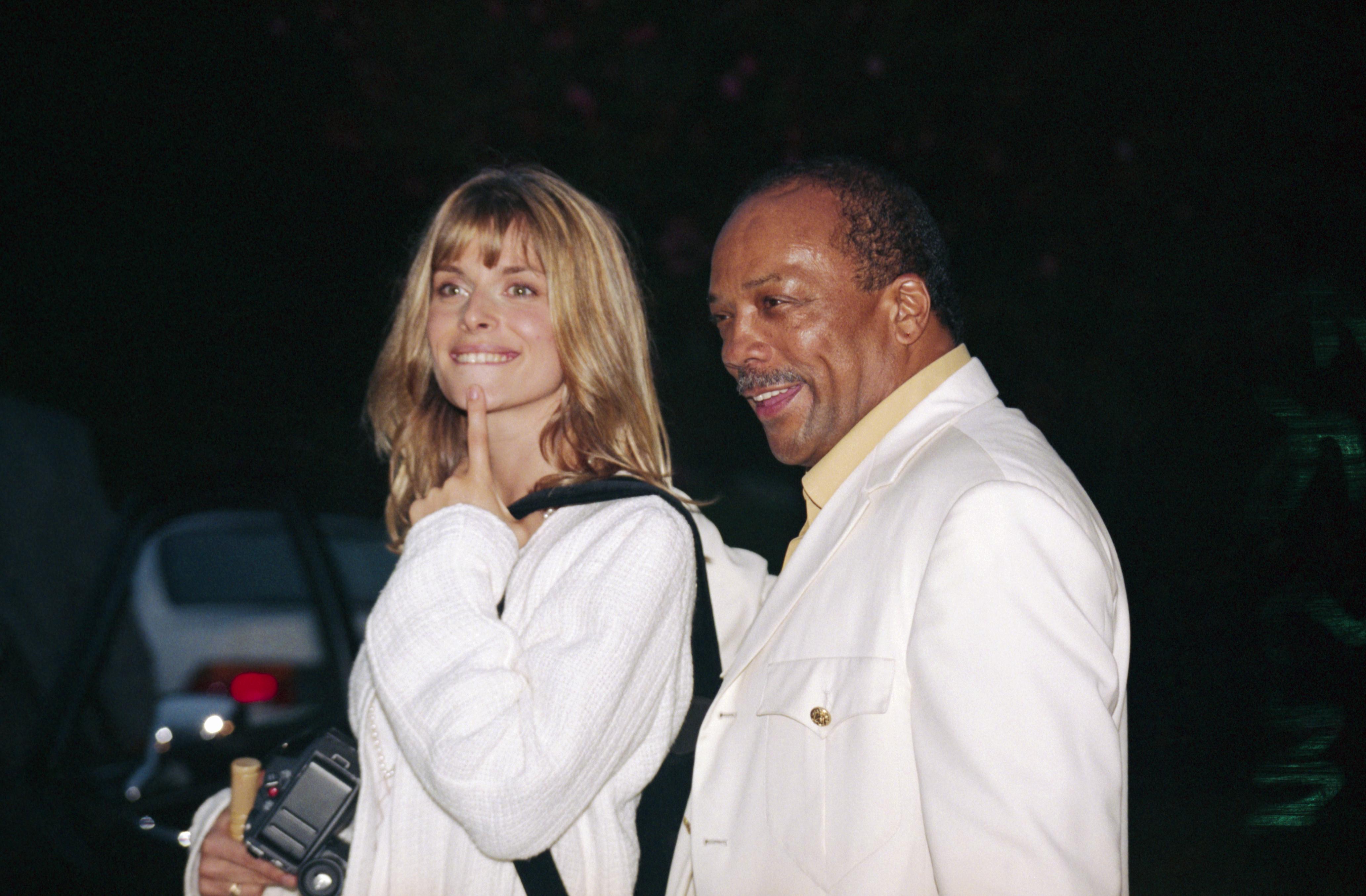 Nastassja Kinski and Quincy Jones - Quincy Jones's life in ...