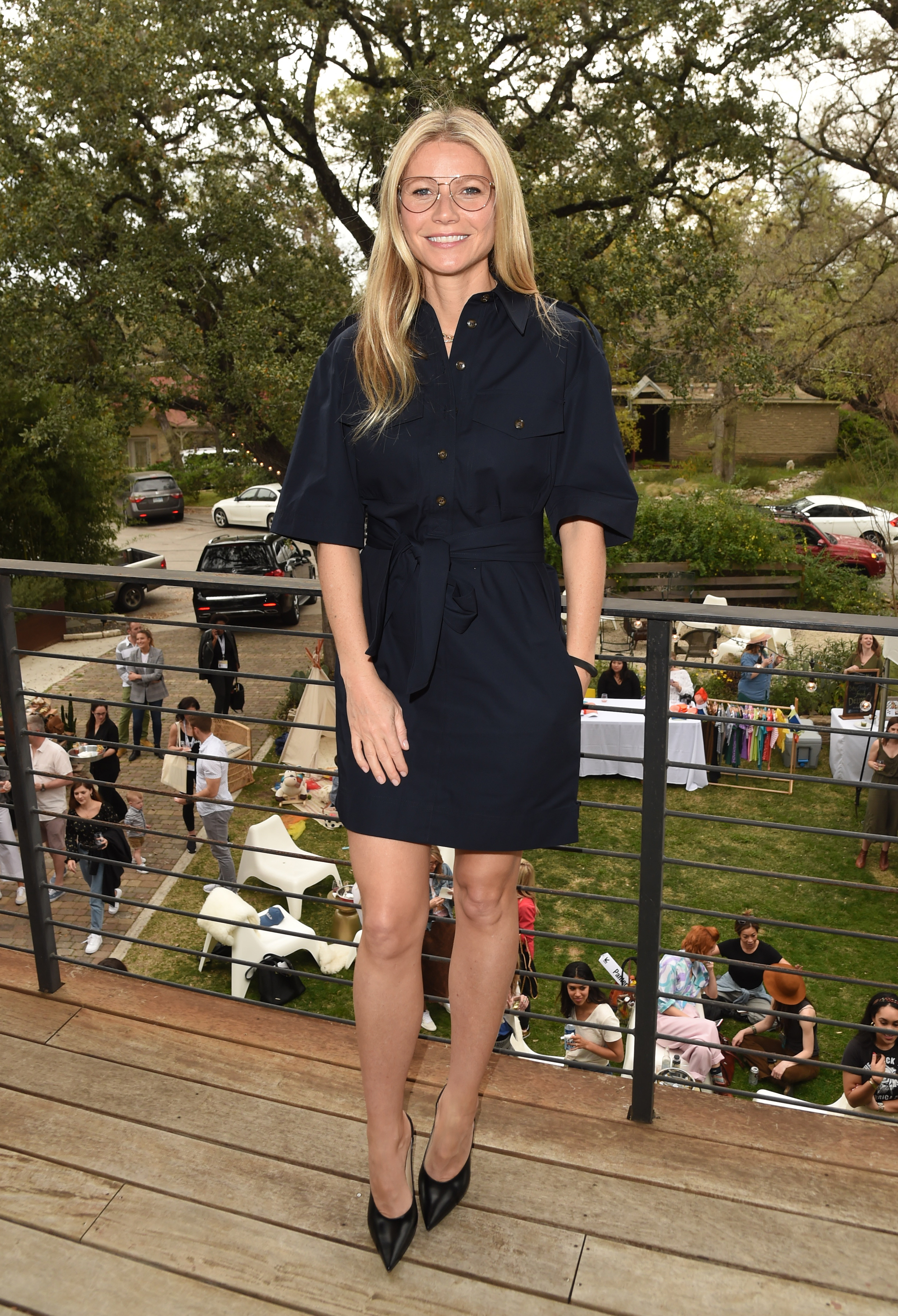 Gwyneth Paltrow attends the Vision Council 3 Day Eye Health event at The Jane Club during SXSW in Austin on March 10, 2019.