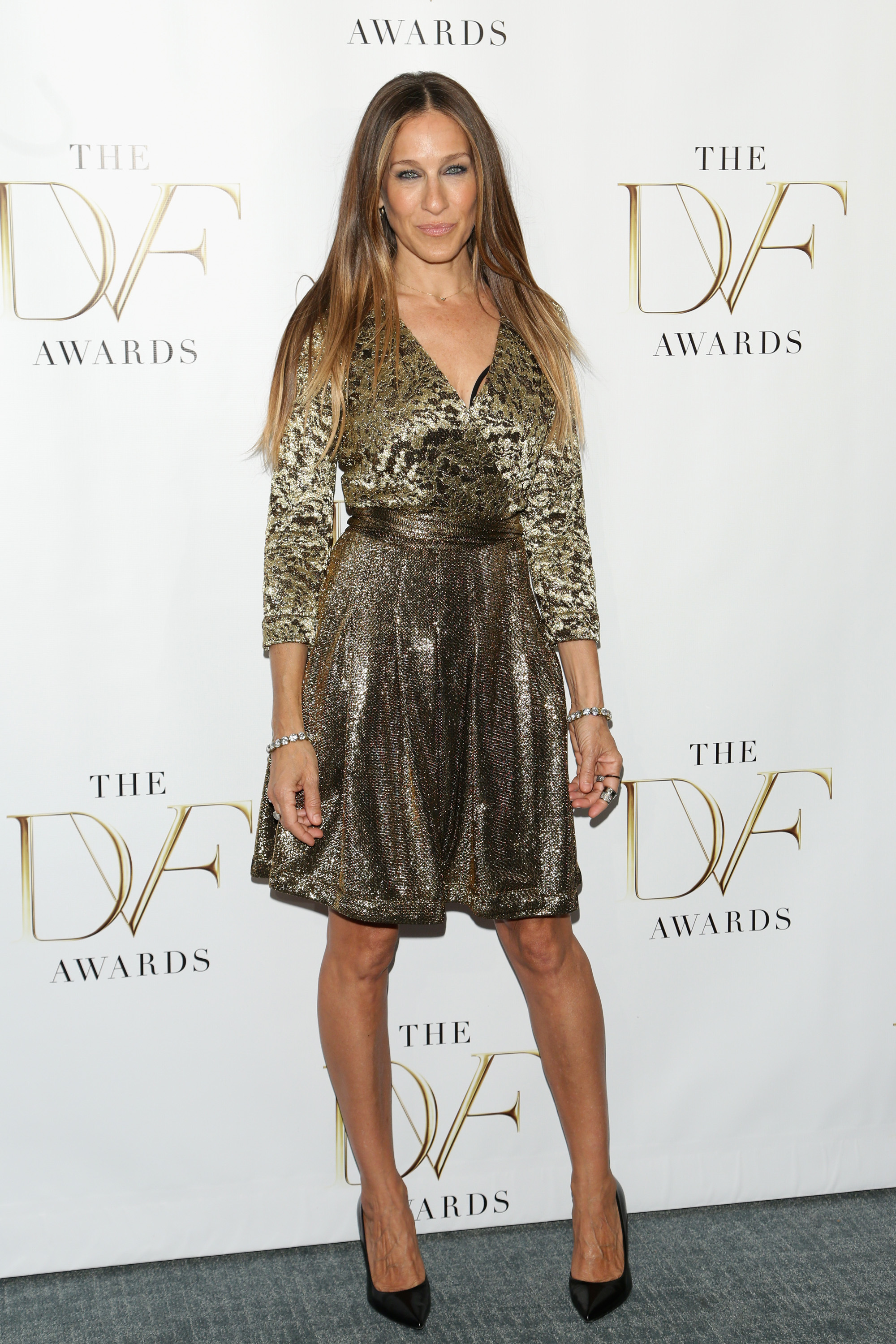 Sarah Jessica Parker attends the 2014 DVF Awards on April 4, 2014 in New York City.