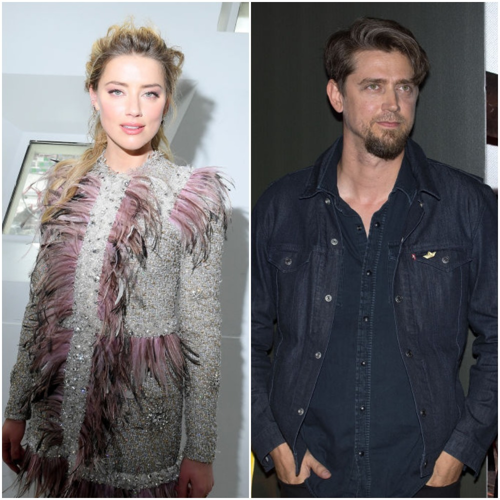 Seeya, Vito? Amber Heard locks lips with Argentine director