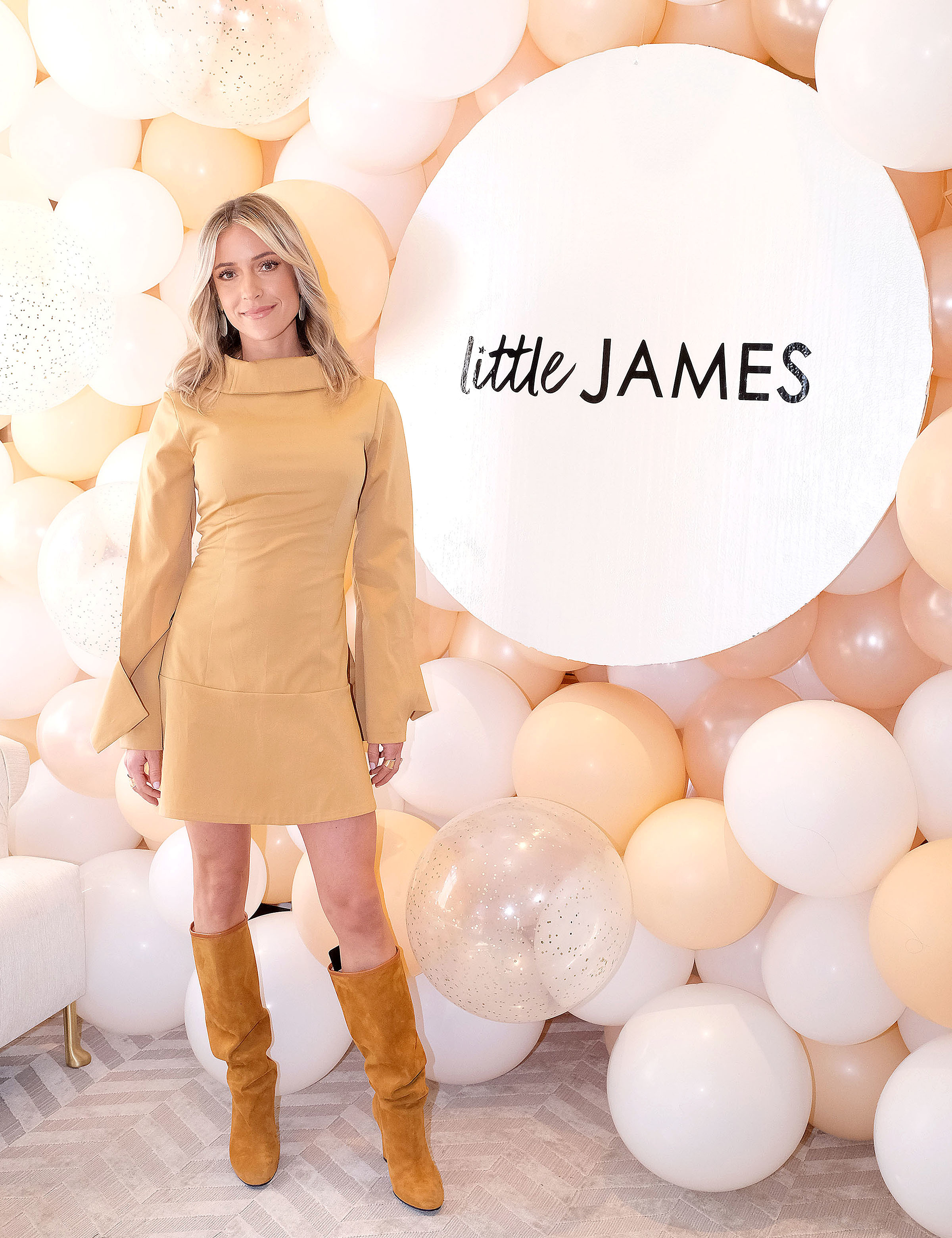 Kristin Cavallari attends the Little James by Kristin Cavallari Pop up Event in Los Angeles on March 16, 2019.