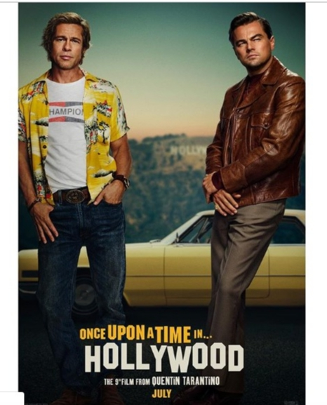 Fans slam Brad Pitt and Leonardo DiCaprio's 'Once Upon a Time in Hollywood' poster