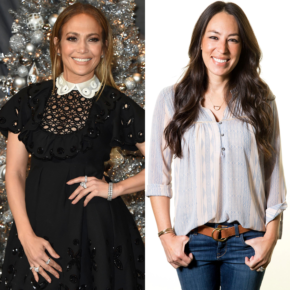 Joanna Gaines helping Jennifer Lopez - Stars are nothing