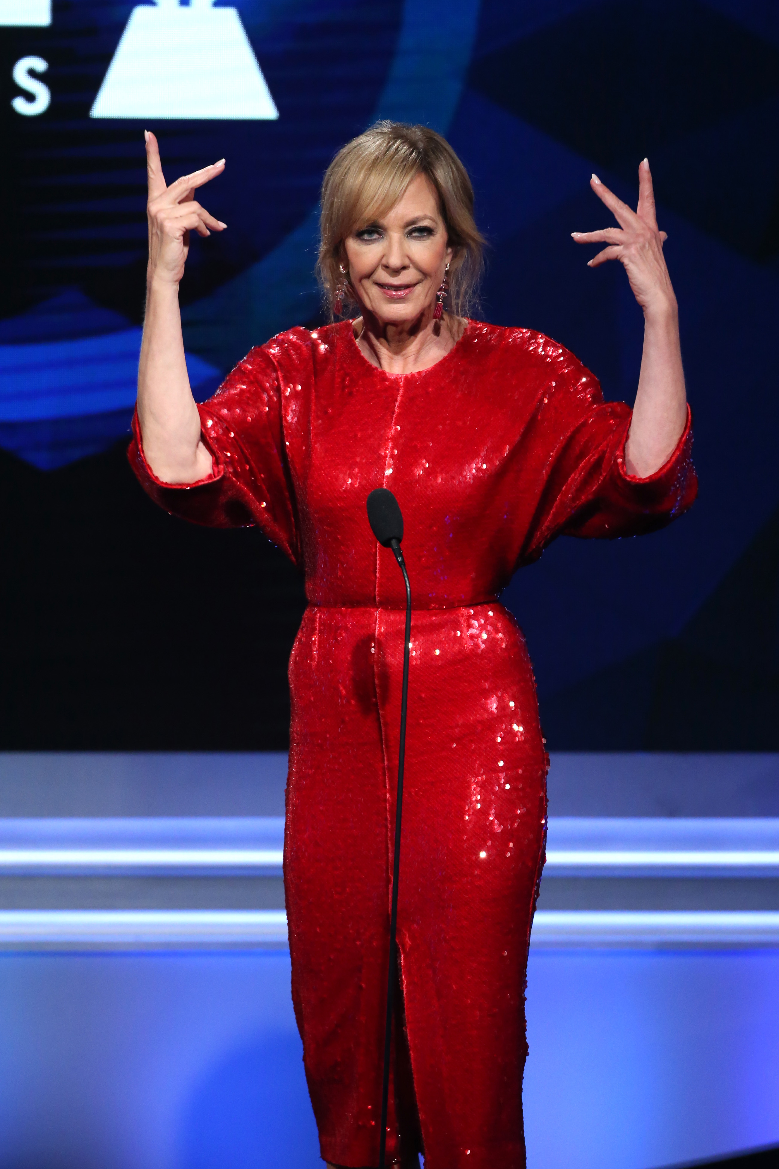 Allison Janney appears at the 30th Annual GLAAD Media Awards in Los Angeles on March 28, 2019.