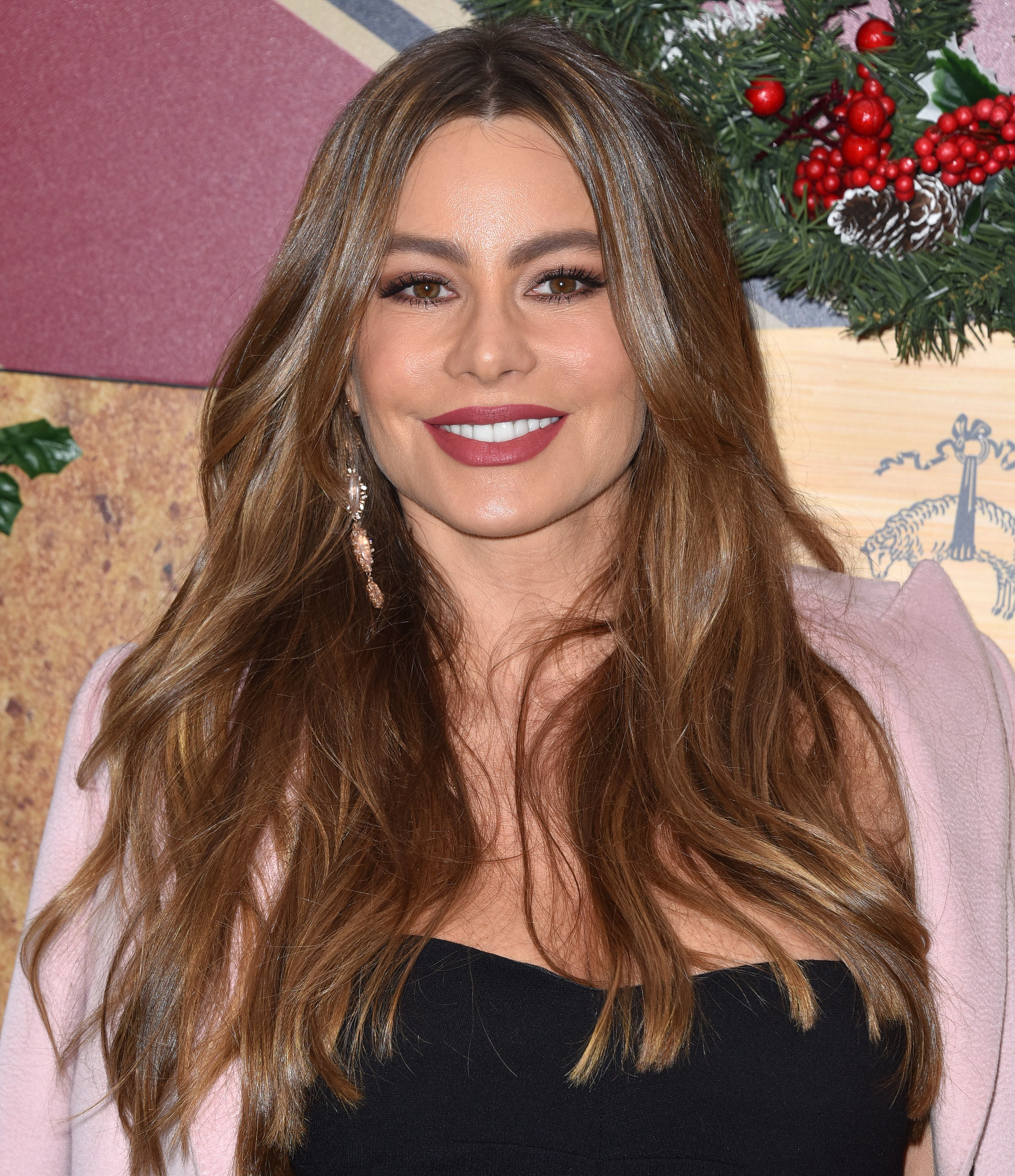 Sofia Vergara attends the Brooks Brothers holiday celebration in Los Angeles on Dec. 9, 2018.