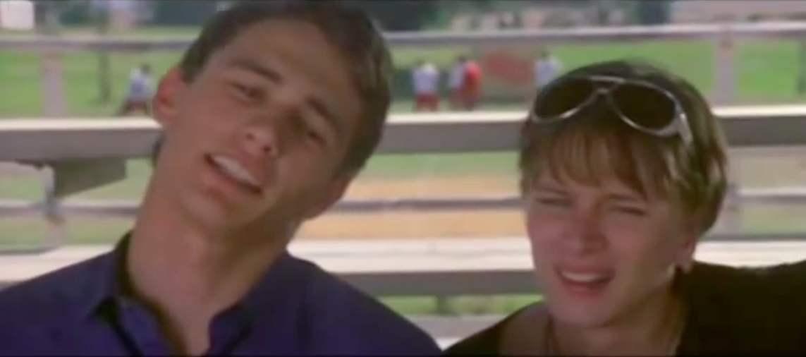 "James Franco in ""Never Been Kissed."""