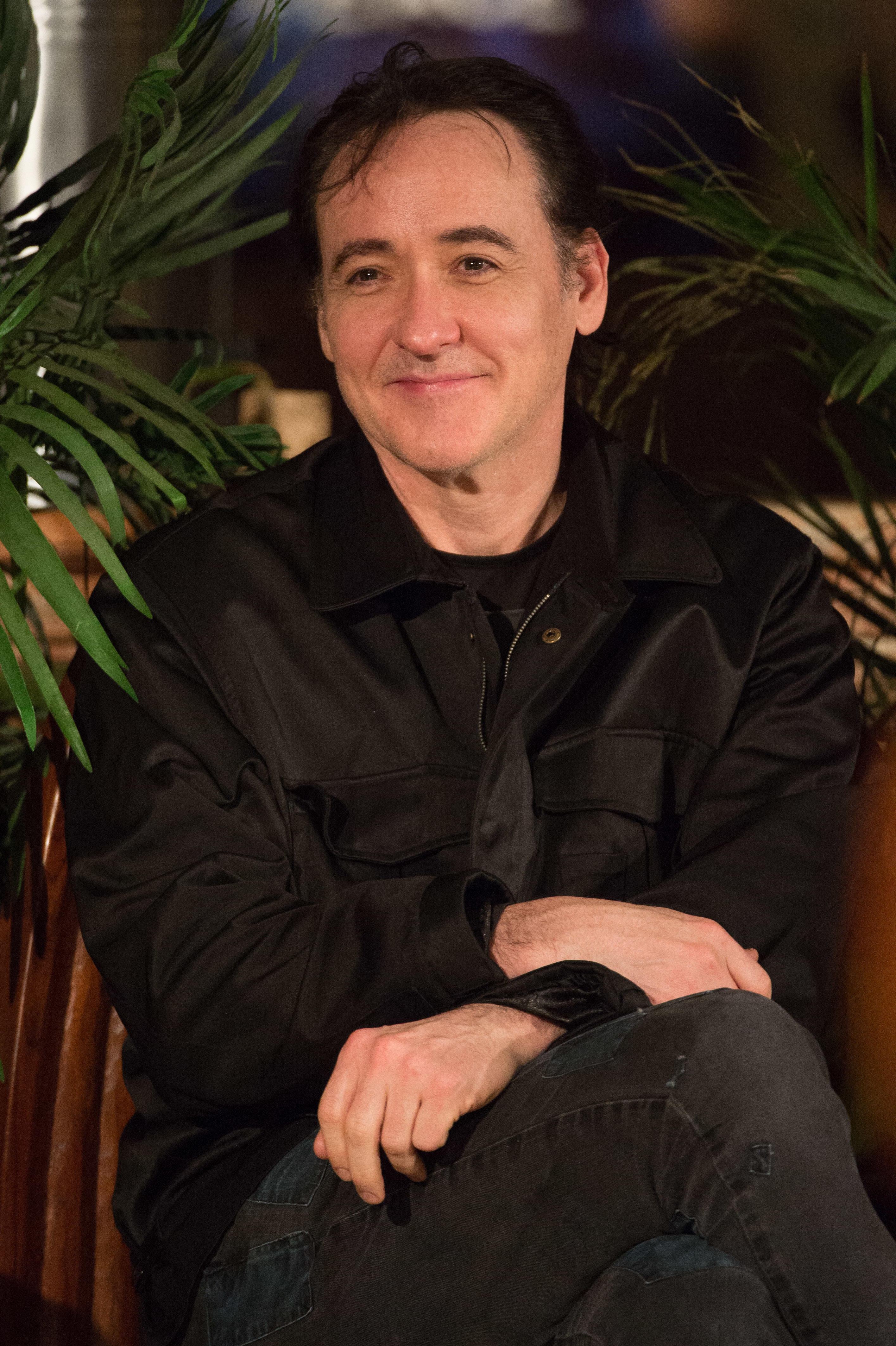 John Cusack appears at African American Speaking Series presents Harry Belafonte in Chicago on Feb. 10, 2017.