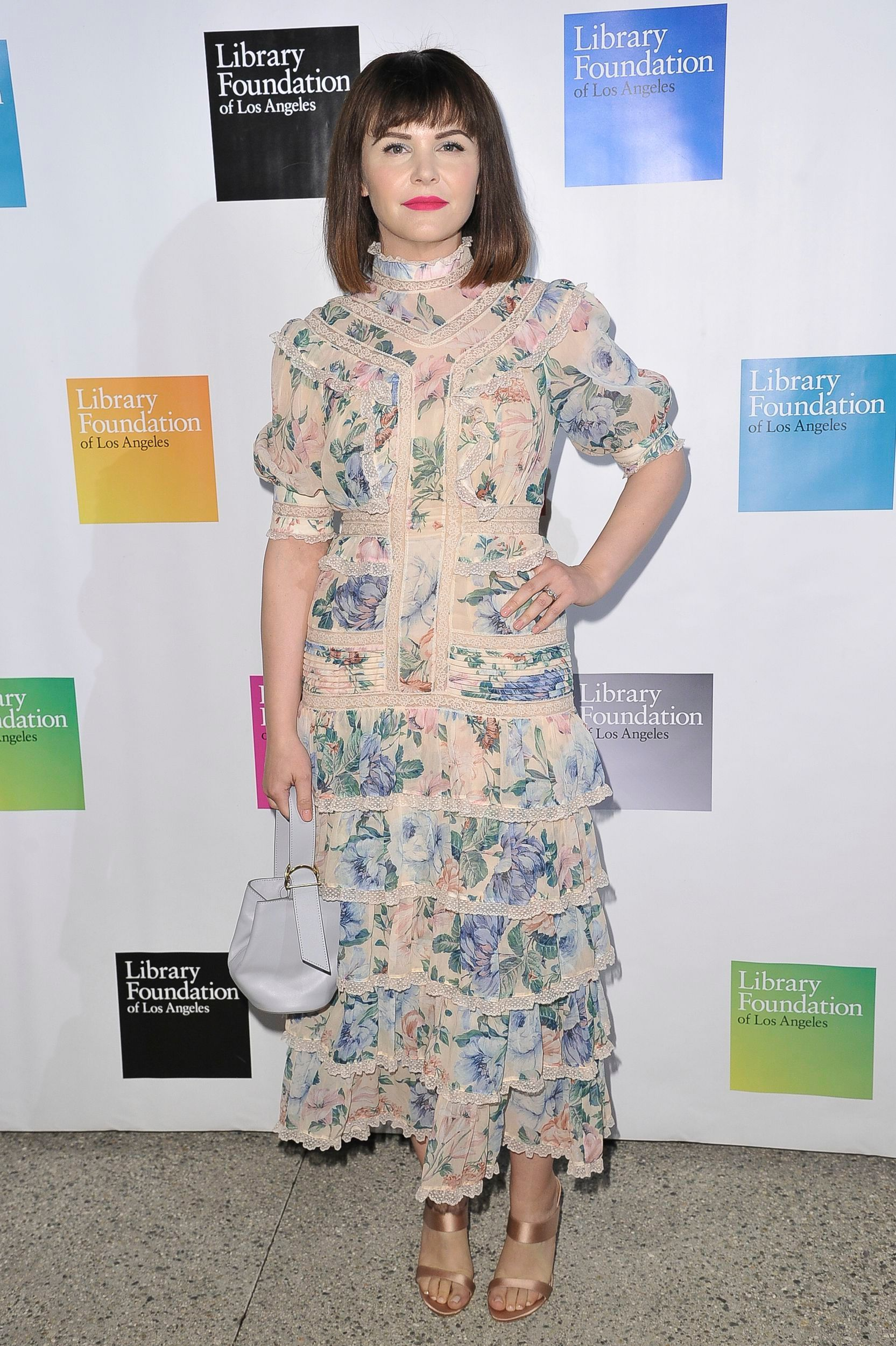 Ginnifer Goodwin attends 2019 Young Literati Toast at City Market in Los Angeles  on April 6, 2019.
