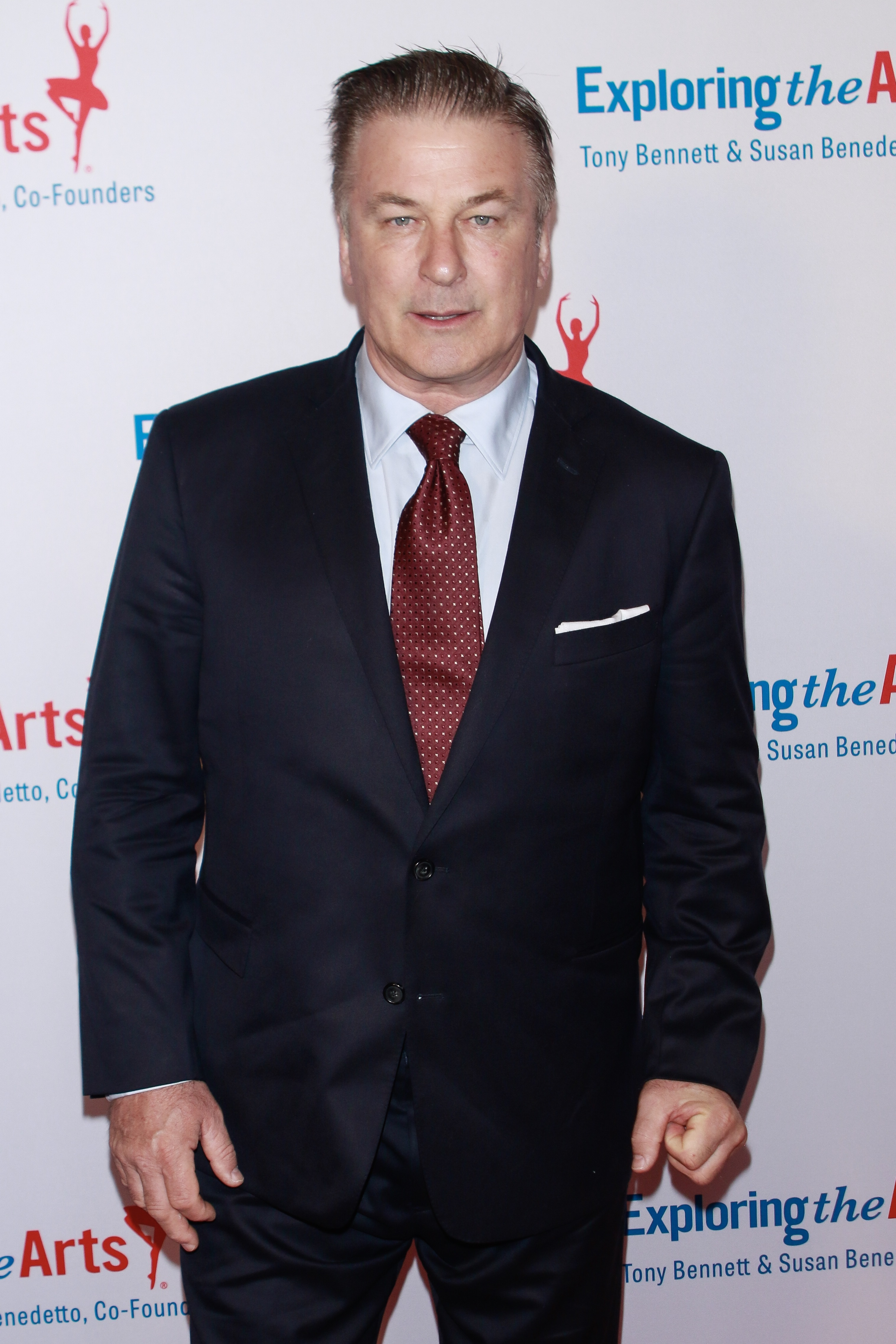 Alec Baldwin attends the Exploring the Arts 20th Anniversary Gala in New York City on April 12, 2019.