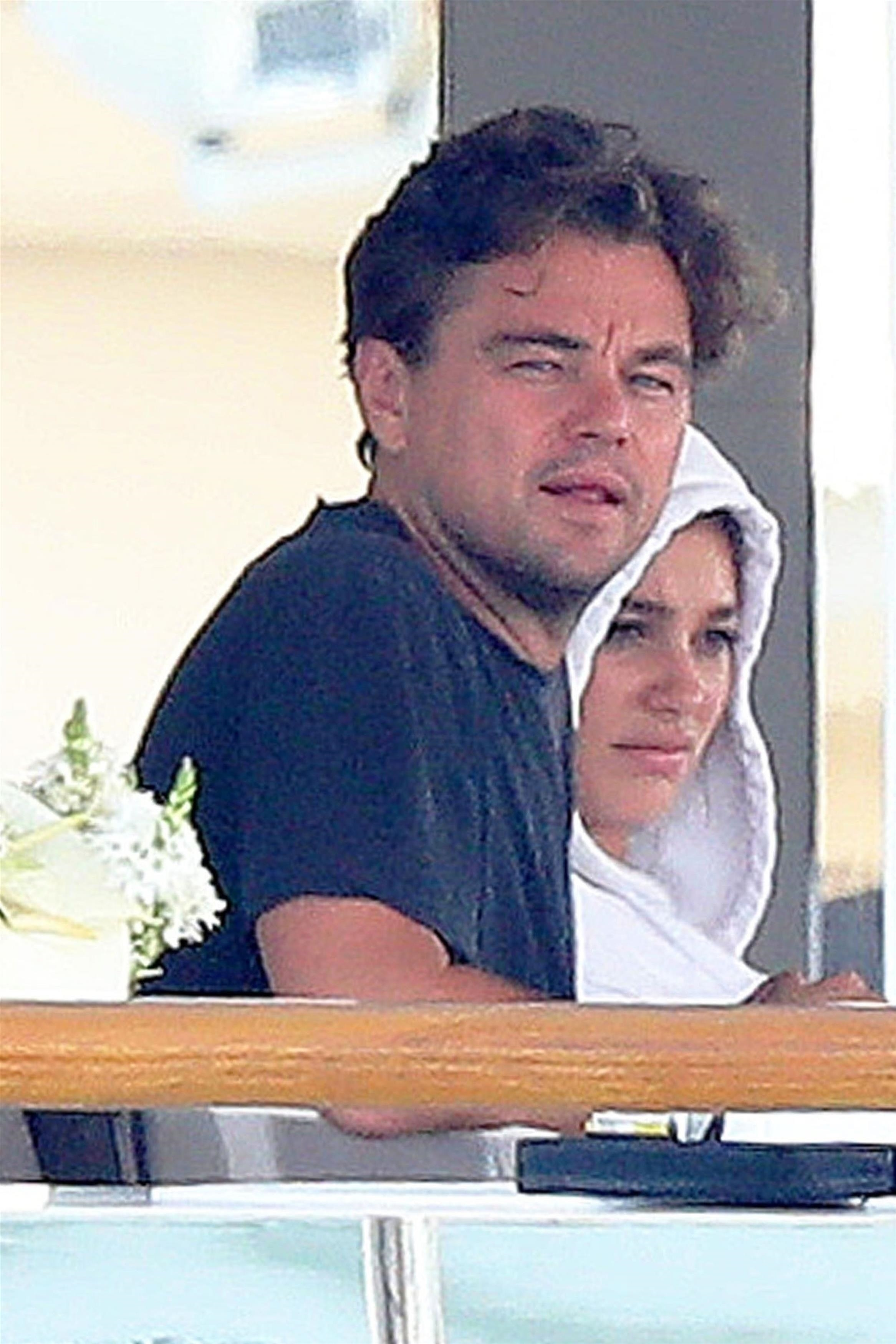 Leonardo DiCaprio and Camila Morrone were pictured looking relaxed and very much in love in the Antibes in 2018.