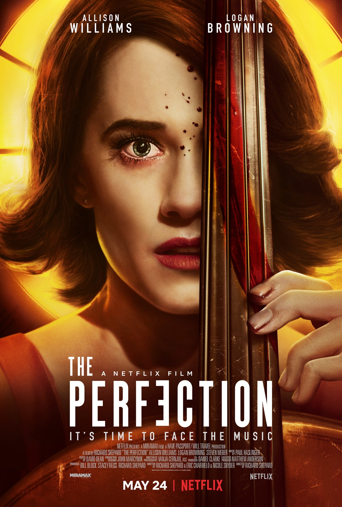 """Allison Williams in 2019's """"The Perfection."""""""