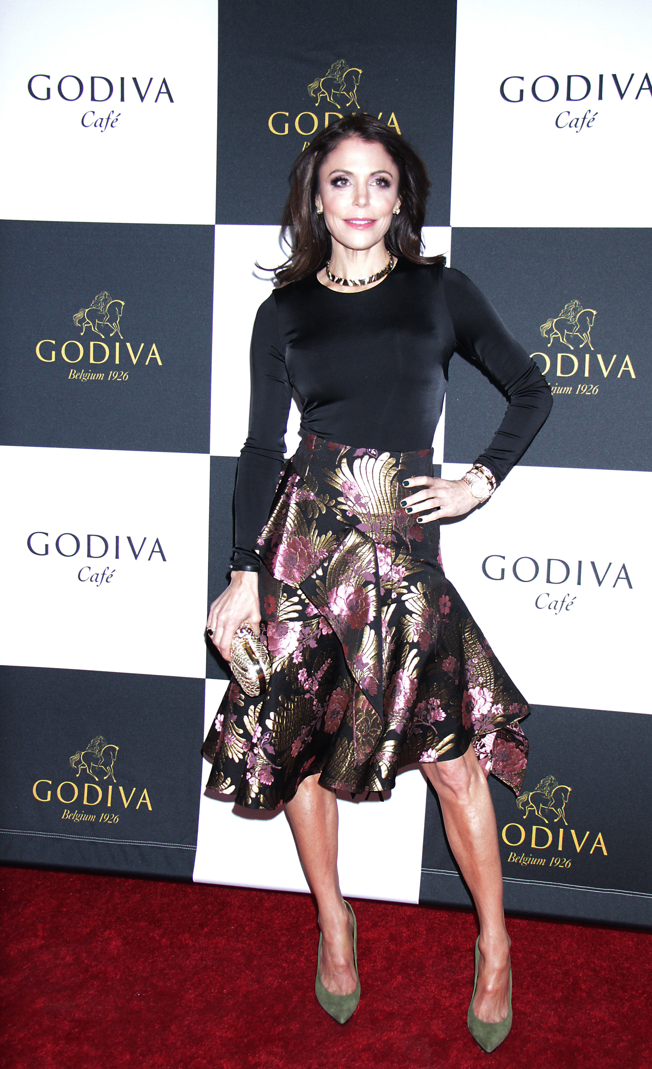 Bethenny Frankel attends the Launch Godiva Cafe in New York City on April17, 2019.