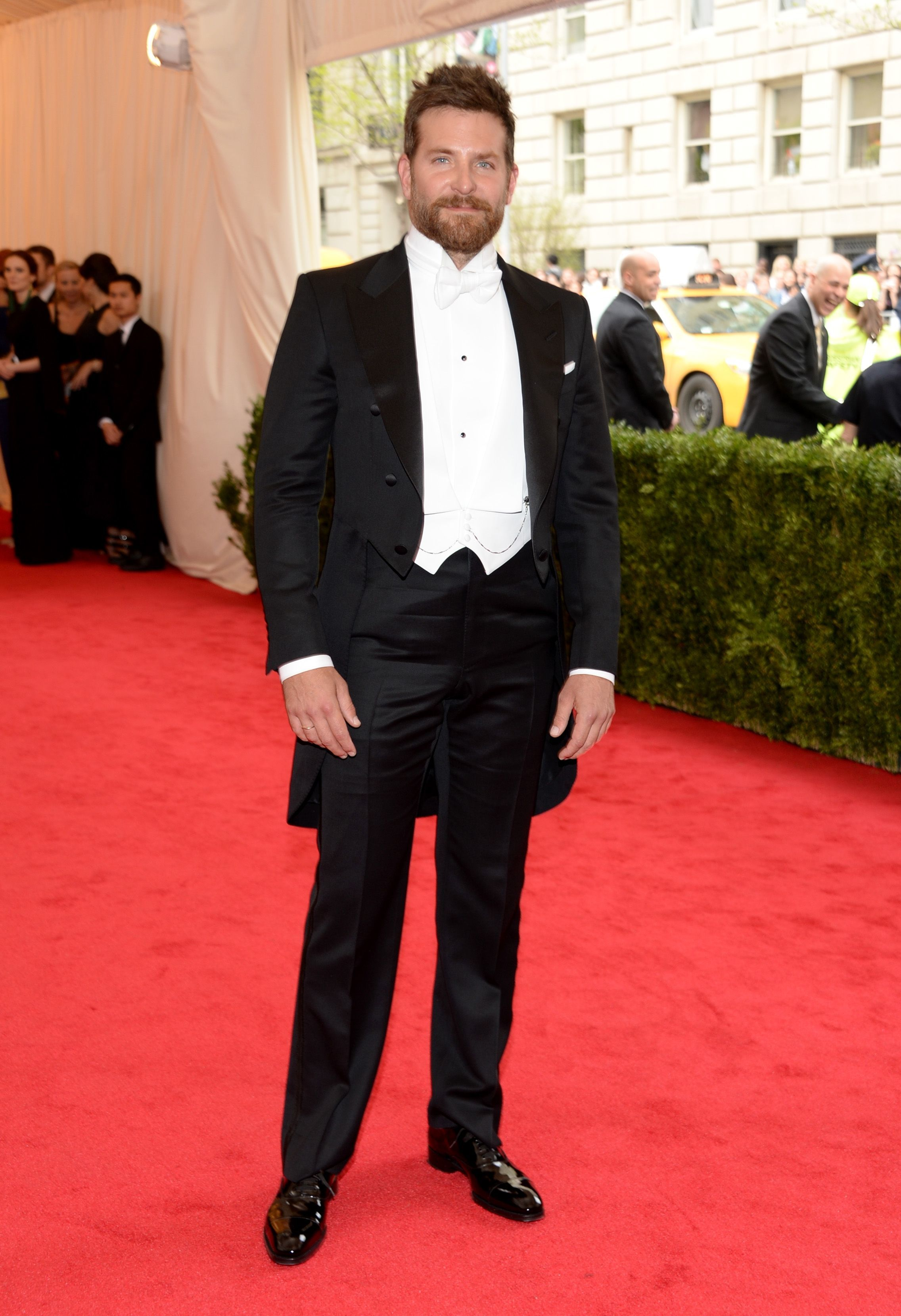 Bradley Cooper attends the Metropolitan Museum of Art's Costume Institute Gala in New York City on May 5, 2014.