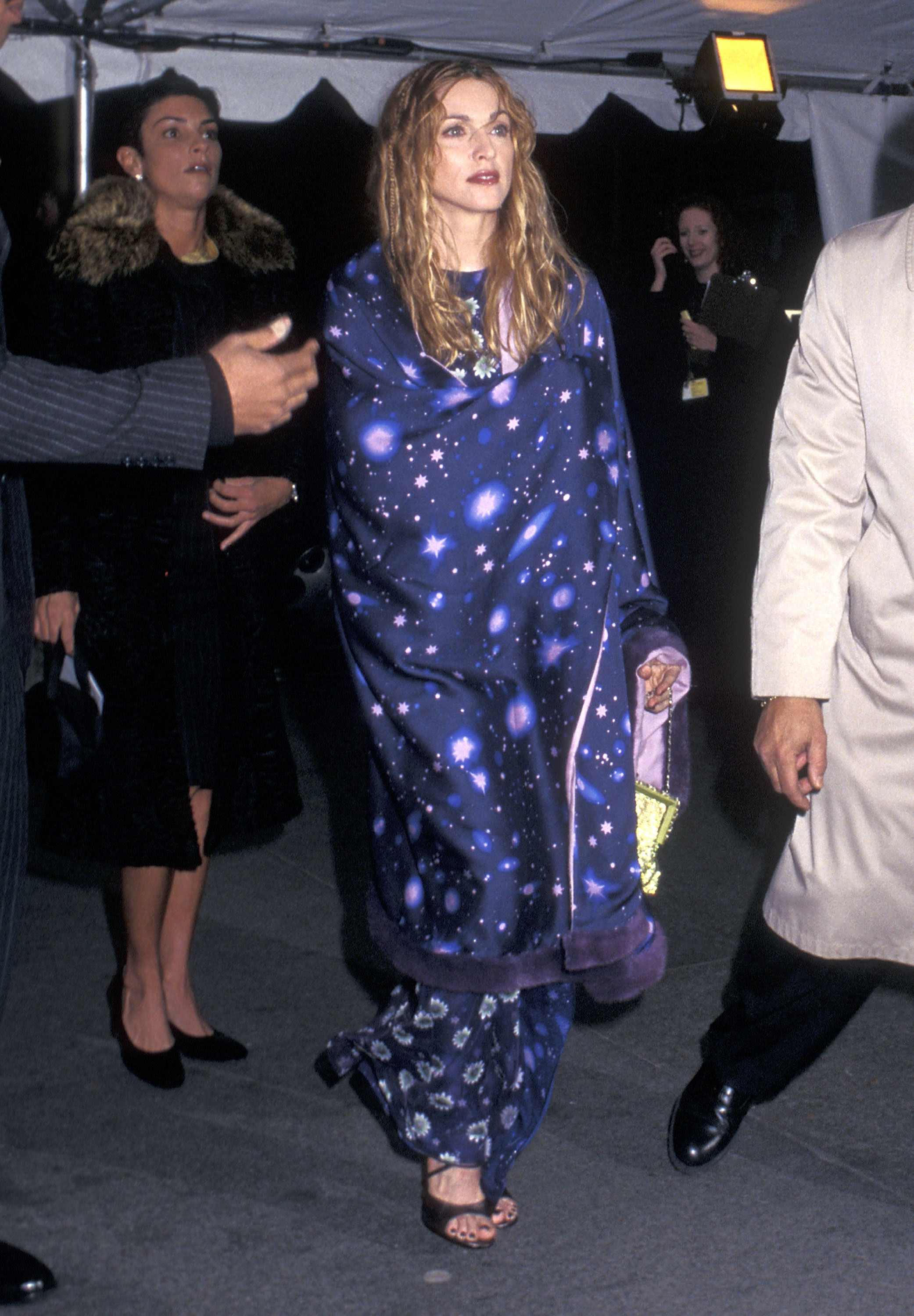 """Madonna attends """"Gianni Versace"""" Costume Institute Gala at the Metropolitan Museum of Art in New York City on Dec. 8, 1997."""