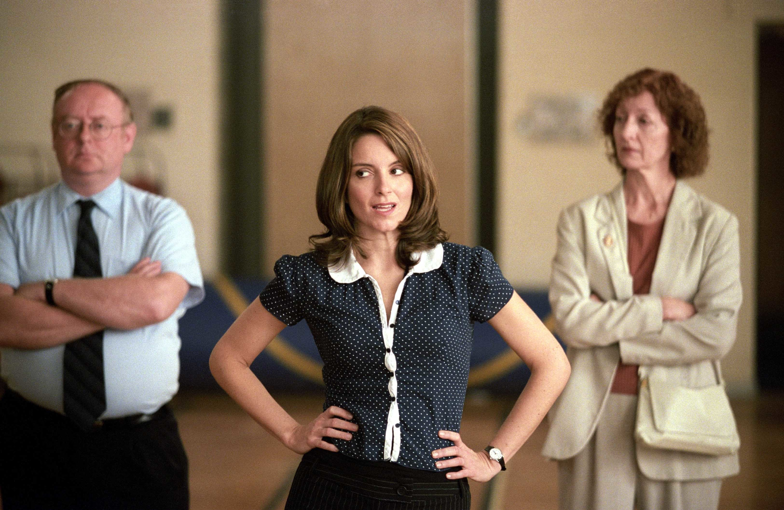 "Tina Fey stars in 2004's ""Mean Girls."""