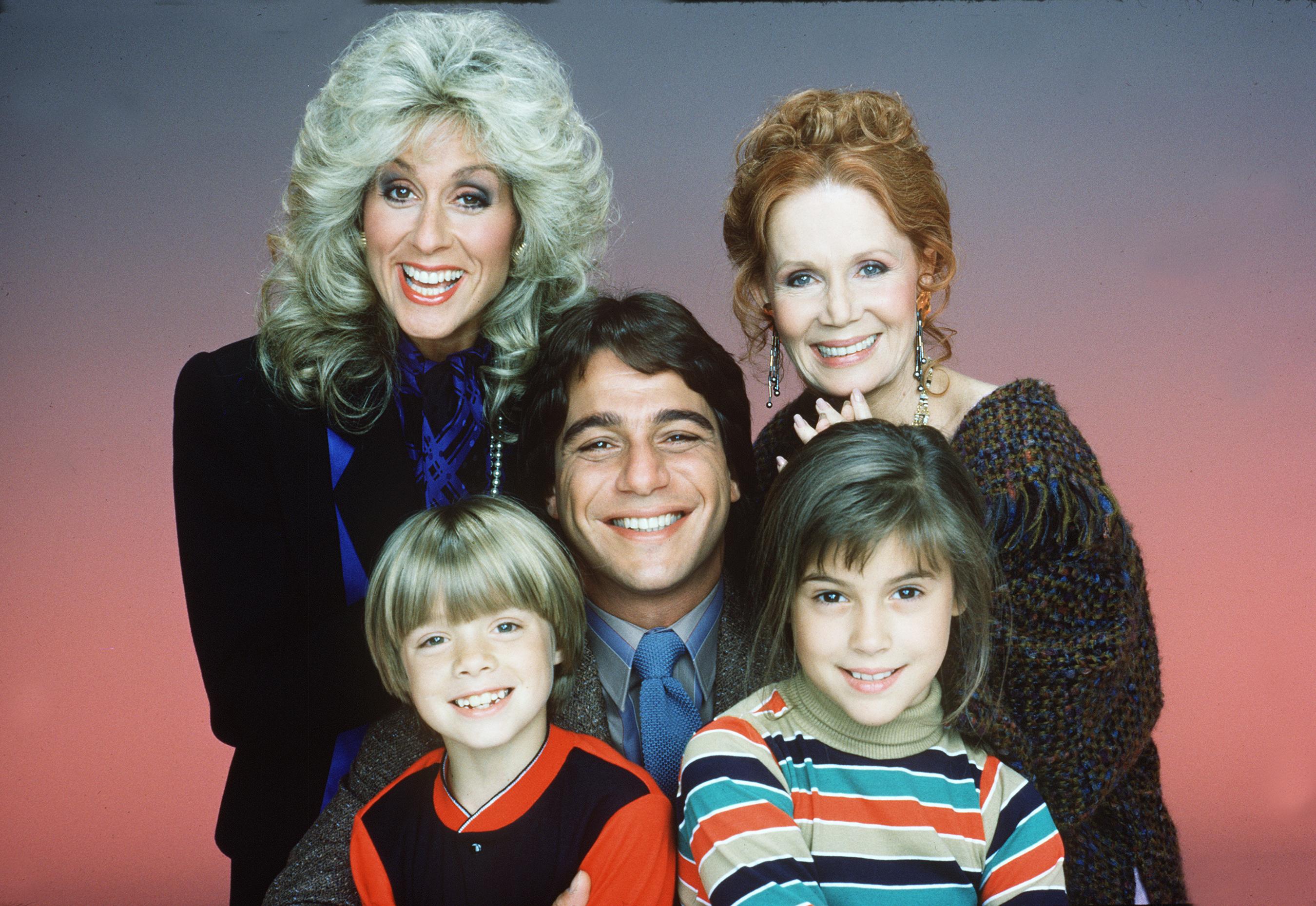 """Who's the Boss"" stars Judith Light, Tony Danza, Danny Pintauro, Alyssa Milano and Katherine Helmond appear in a Season 1 cast photo on Sept. 20, 1984."