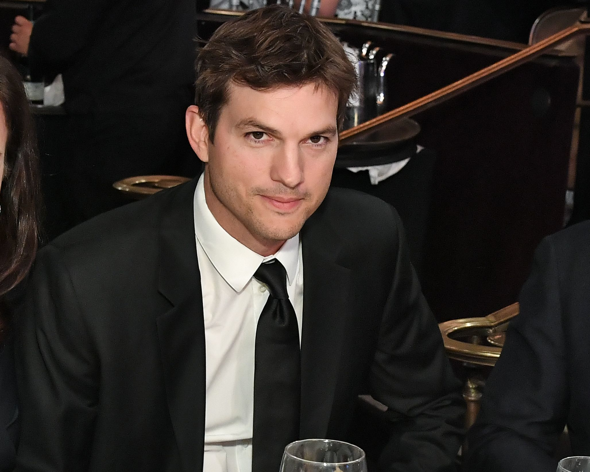 Ashton Kutcher attends the Friends of the Israel Defense Forces Western Regional Gala in Los Angeles on Nov. 1, 2018.