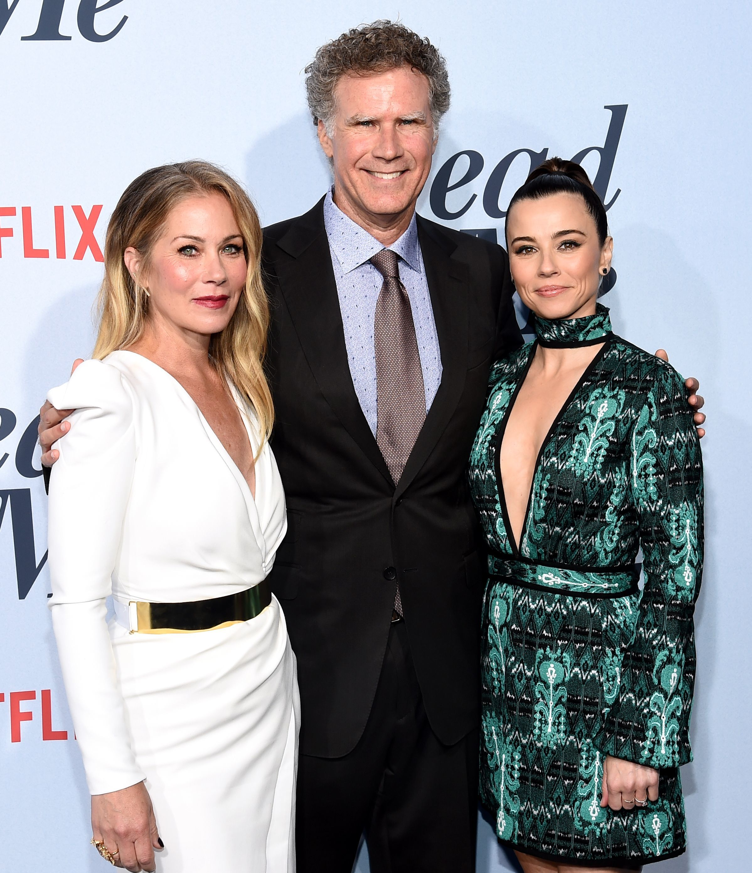 "Christina Applegate, Will Ferrell and Linda Cardellini attend the ""Dead To Me"" Season 1 TV Show Premiere in Los Angeles on May 2, 2019."