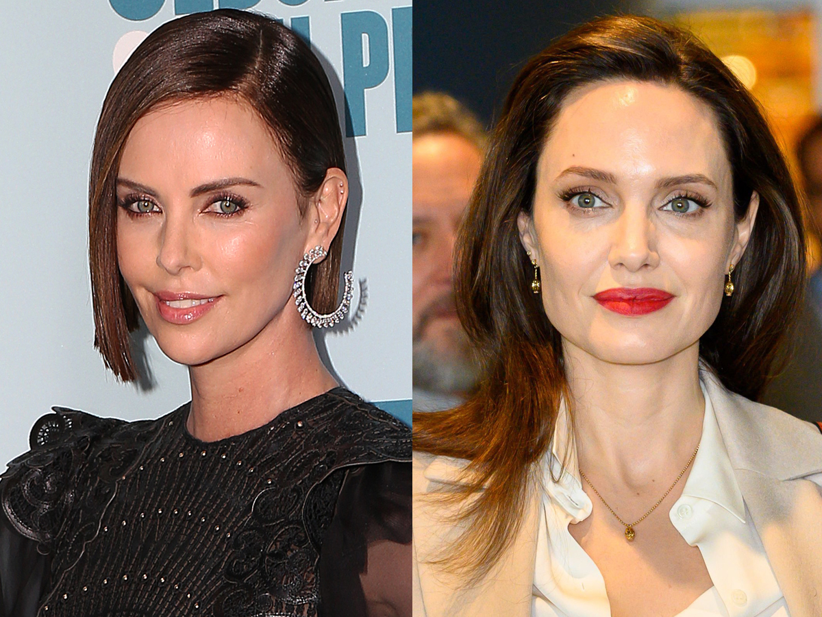 Angelina Jolie Video Hard charlize theron addresses angelina jolie feud rumors, more