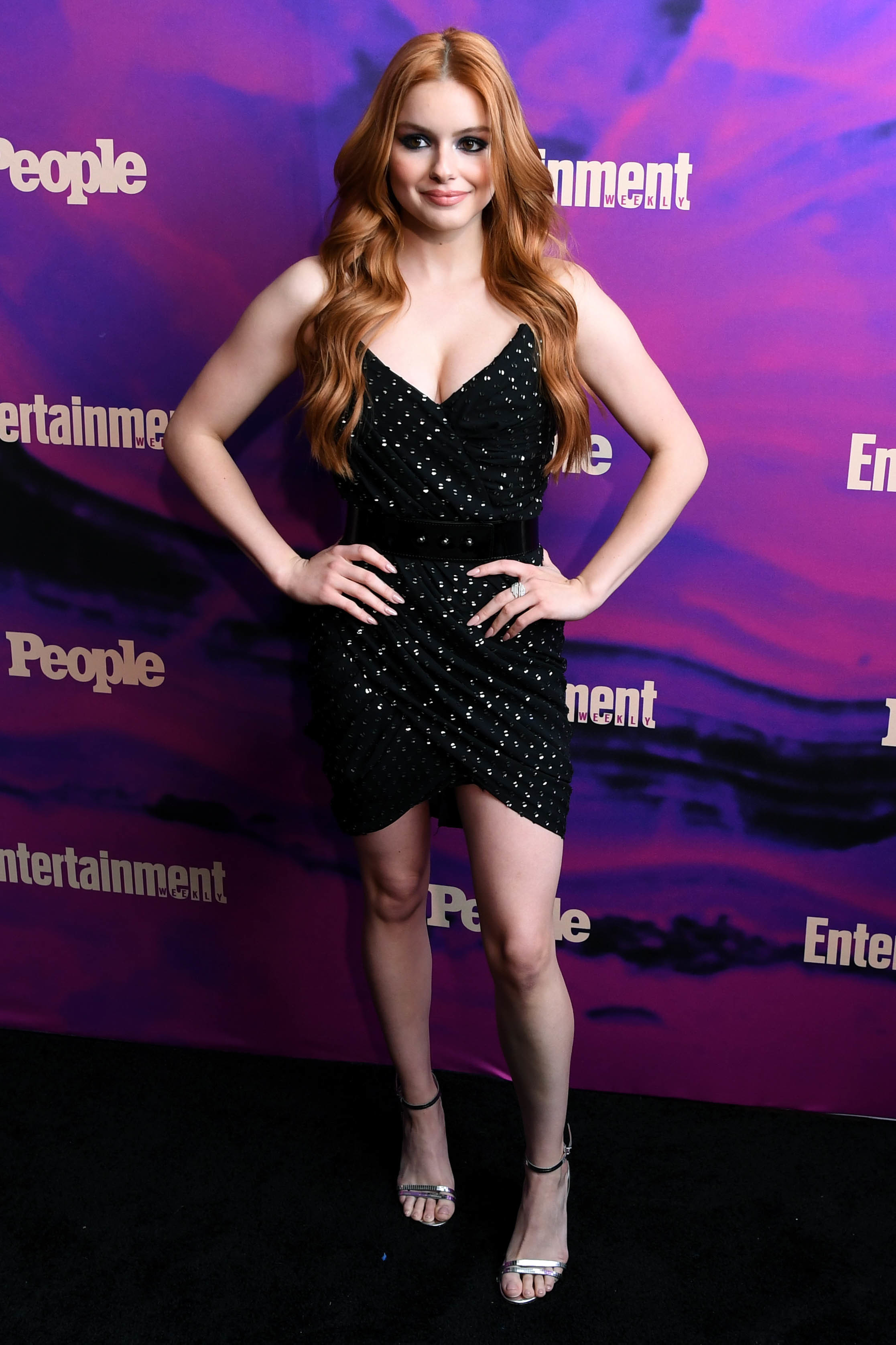 Ariel Winter attends the Entertainment Weekly and People Magazine Upfront Party in New York City on May 13, 2019.