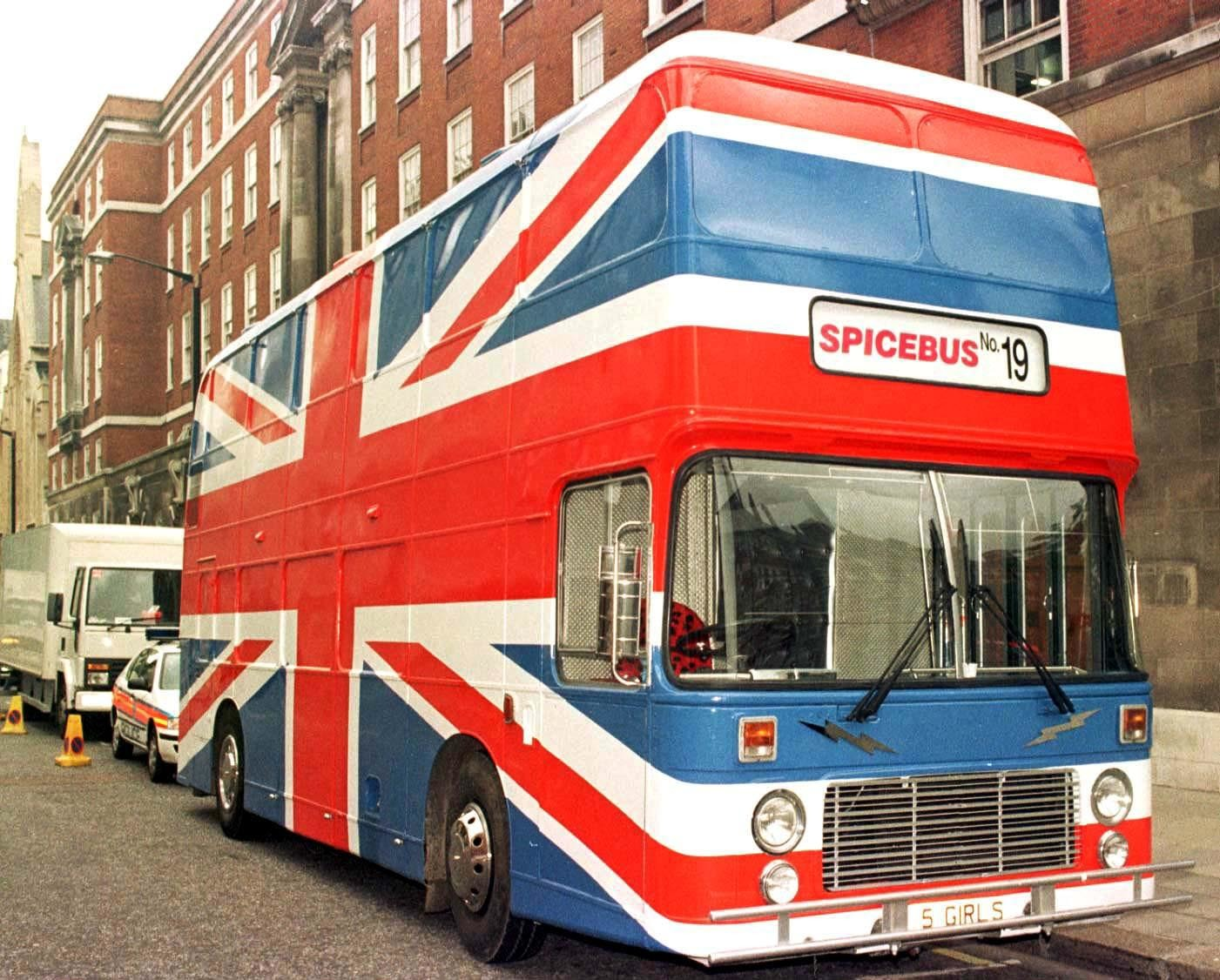 Spice Girls' double-decker Spice Bus for rent on Airbnb