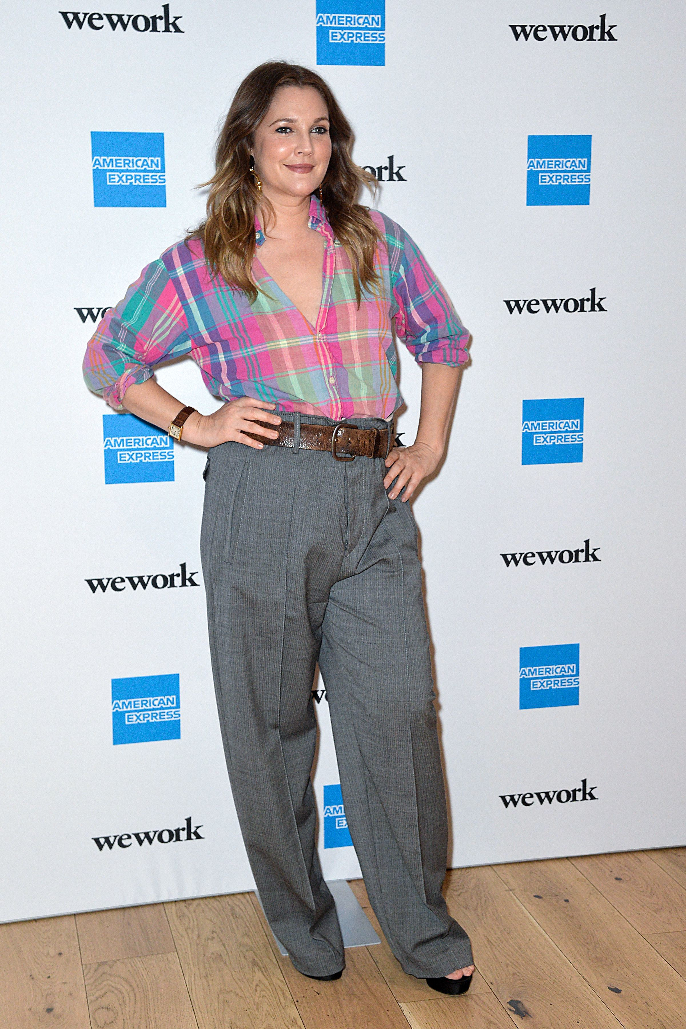 """Drew Barrymore attends the """"For The Love of Collaboration"""" in New York City on May 15, 2019."""