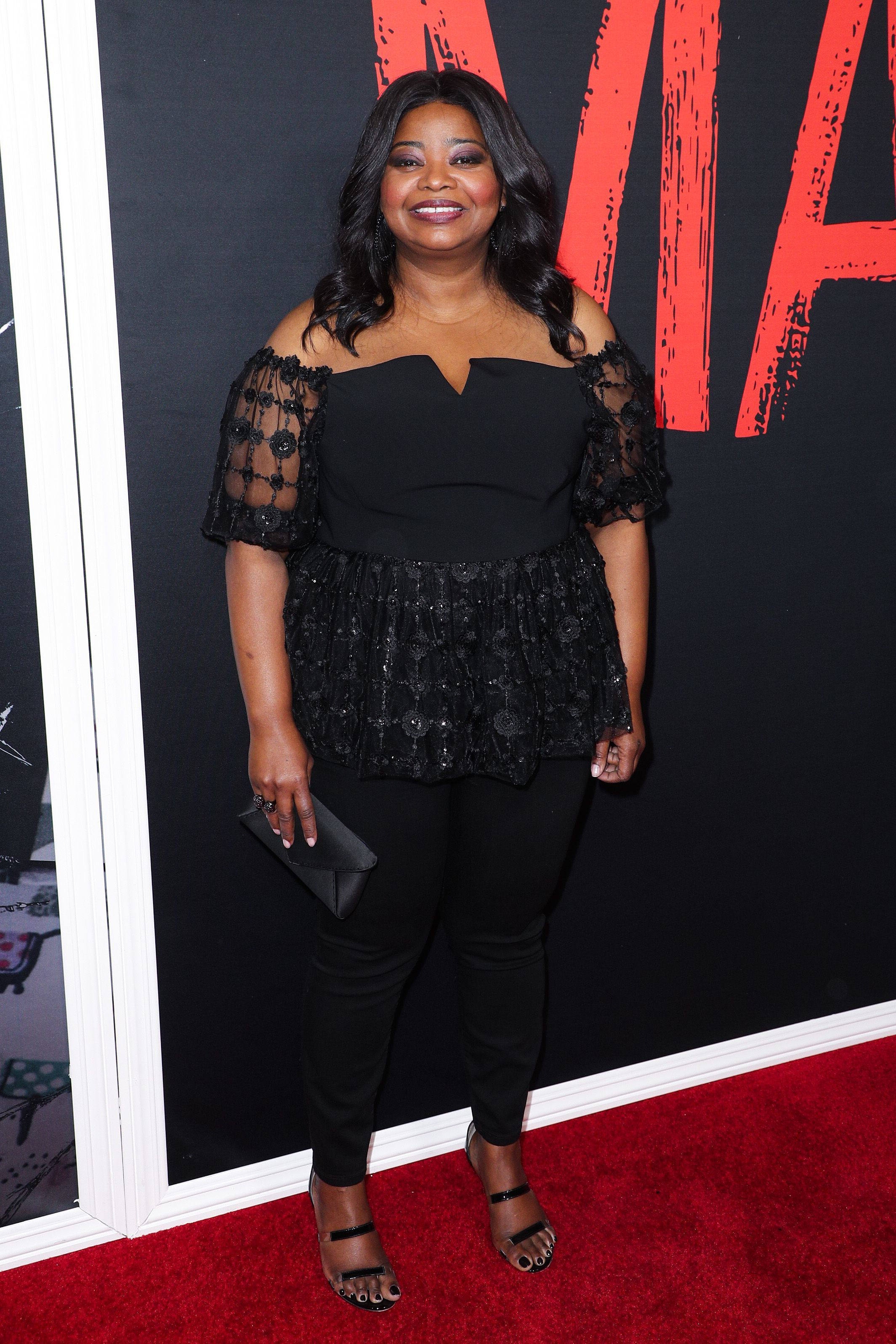 "Octavia Spencer attends the ""Ma"" premiere in Los Angeles on May 16, 2019."
