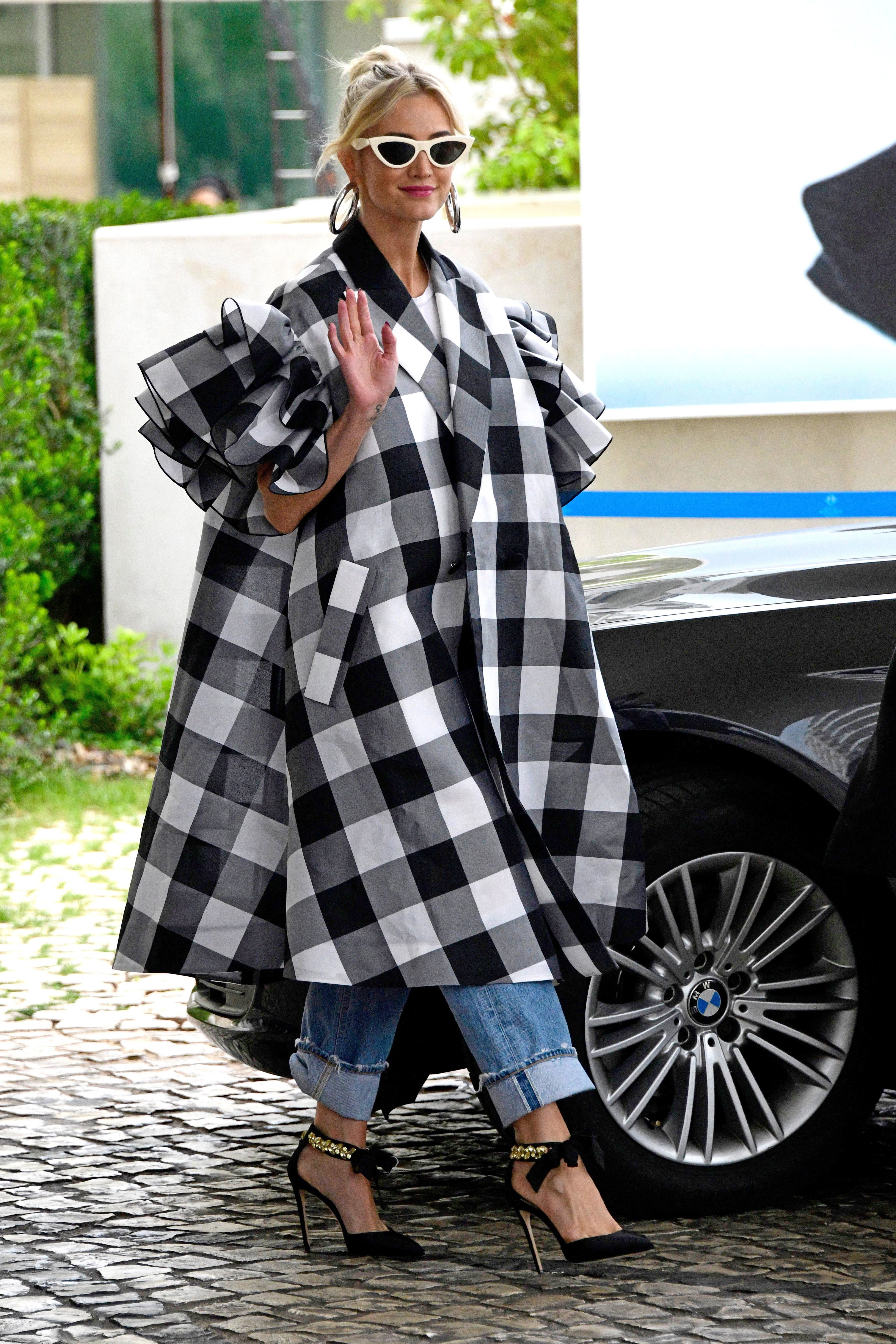 Ashlee Simpson steps out during the 72nd Cannes Film Festival on May 17, 2019.
