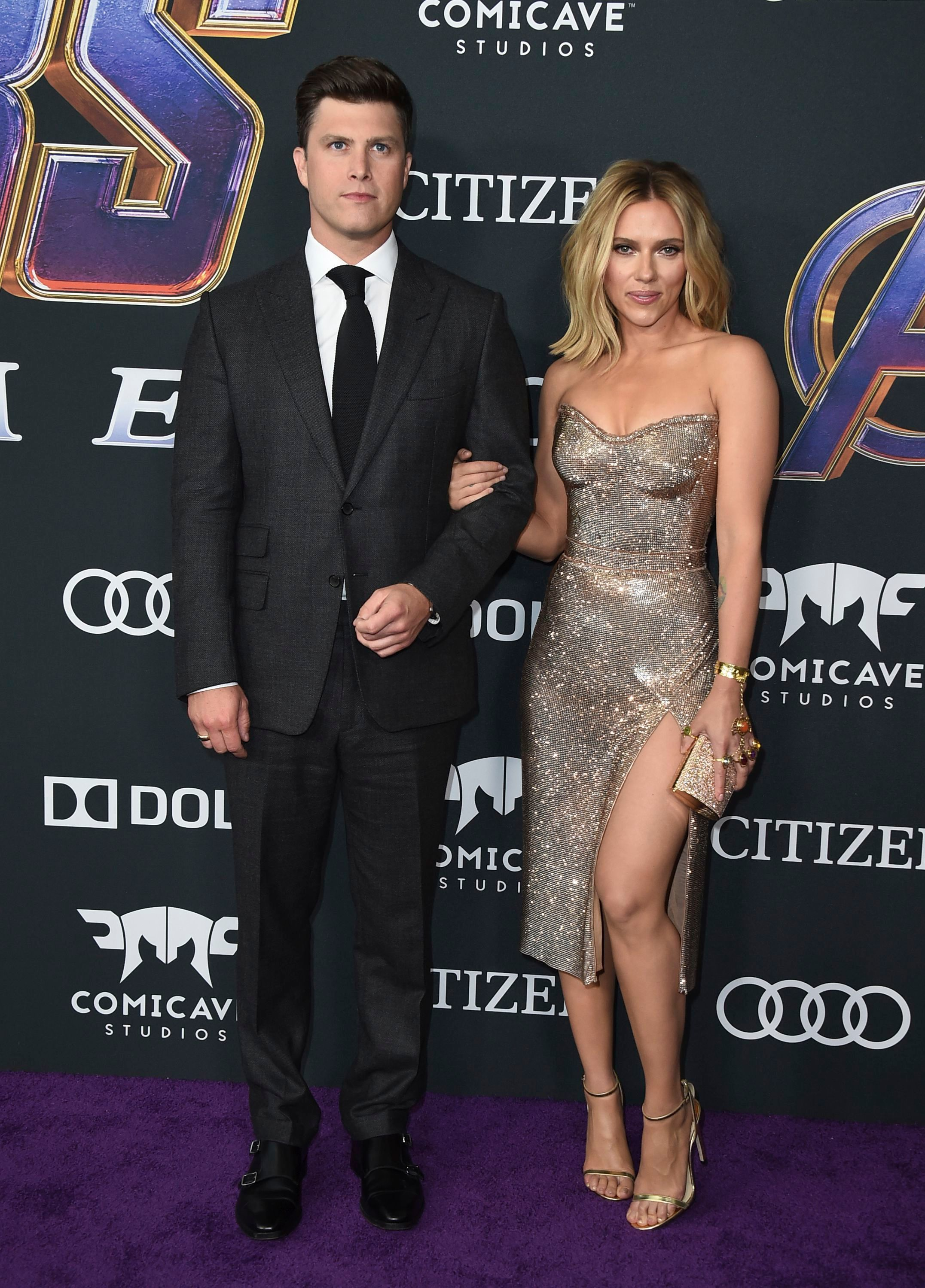 Scarlett Johansson and Colin Jost are engaged, plus more celeb love life news for mid-May 2019