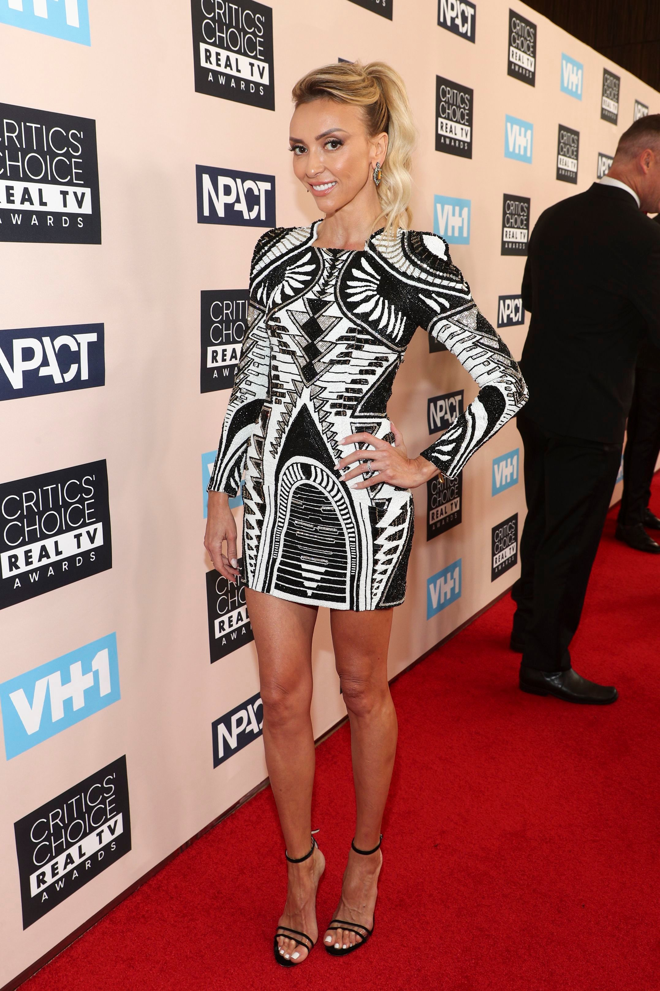 Giuliana Rancic attends the Critics' Choice Real TV Awards in Los Angeles on June 2, 2019.