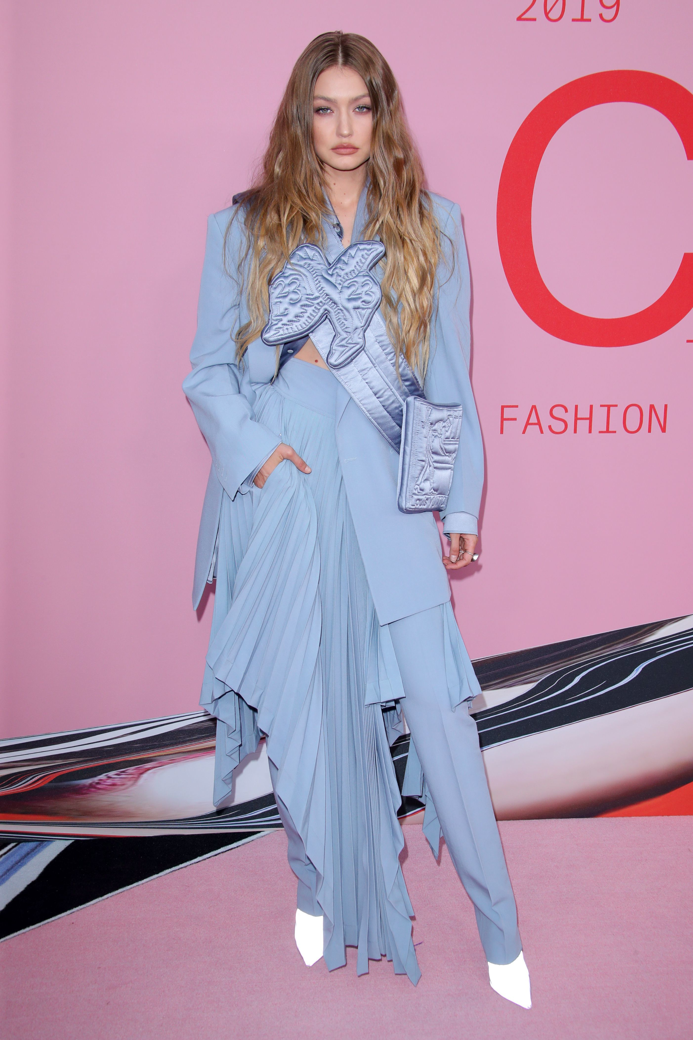 Gigi Hadid attends the CFDA Fashion Awards in New York City on June 3, 2019.