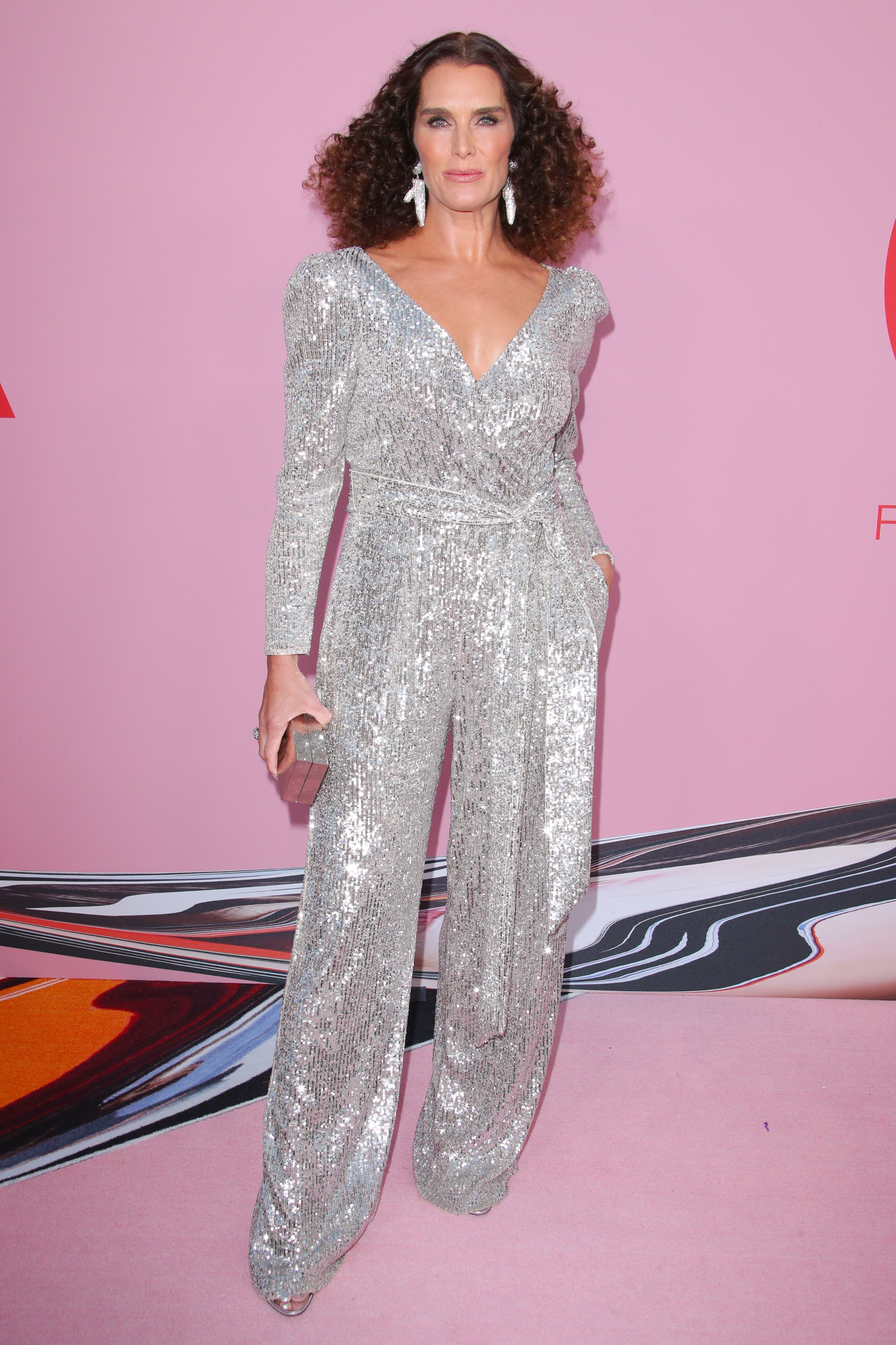 Brooke Shields attends the CFDA Fashion Awards in New York City on June 3, 2019.