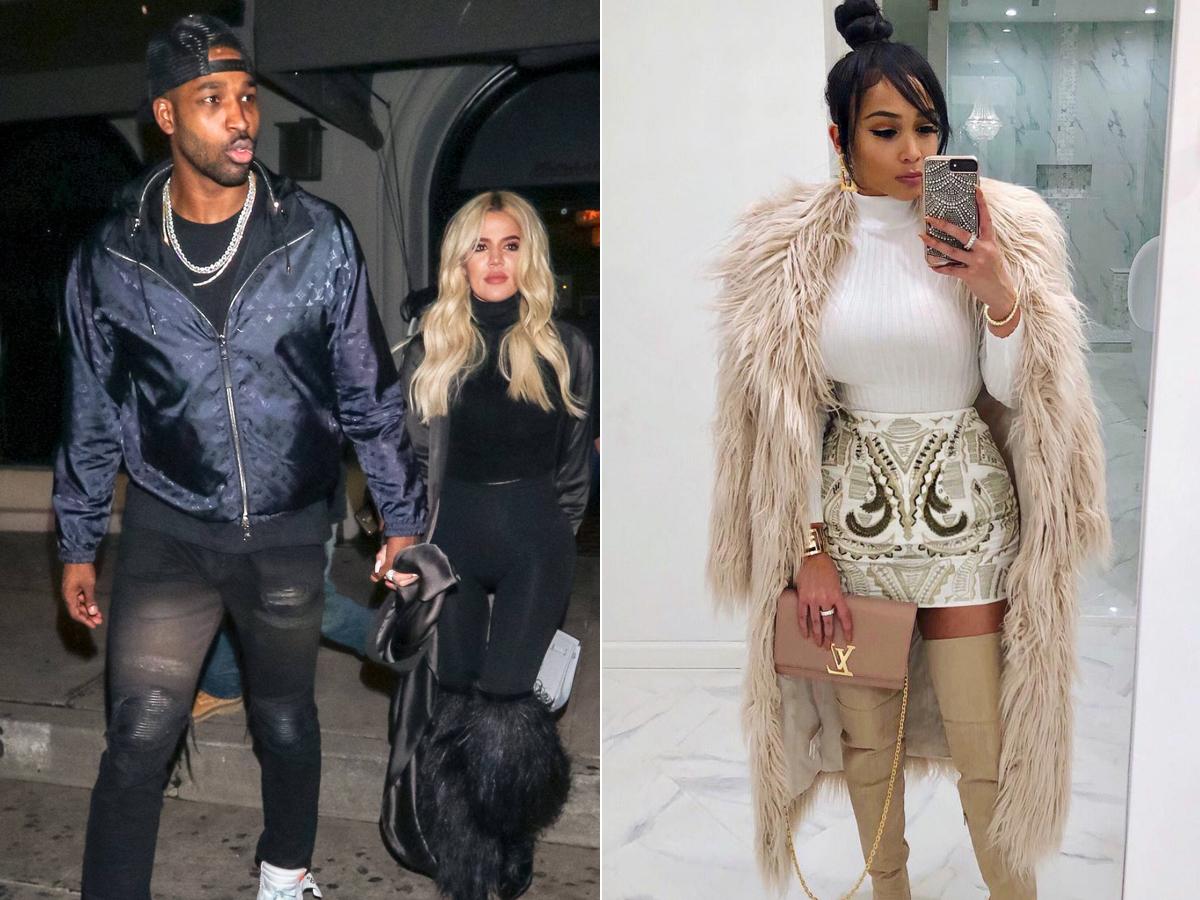 Khloe Kardashian and Tristan Thompson leave Craig's restaurant in West Hollywood on Jan. 13, 2019. Jordan Craig poses in an Instagram selfie on Dec. 25, 2018.