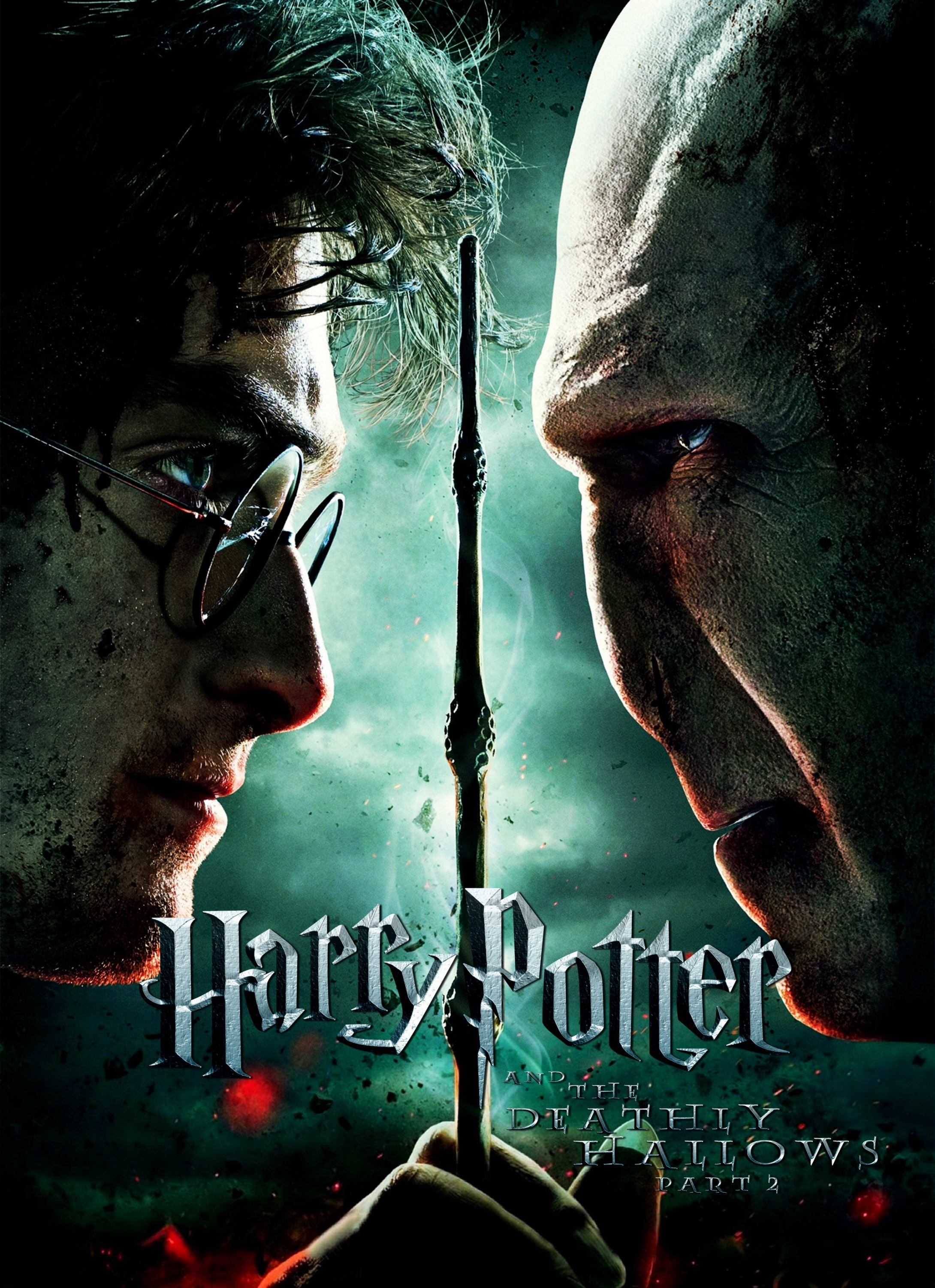 """Daniel Radcliffe and Ralph Fiennes in 2011's """"Harry Potter and the Deathly Hallows: Part 2."""""""