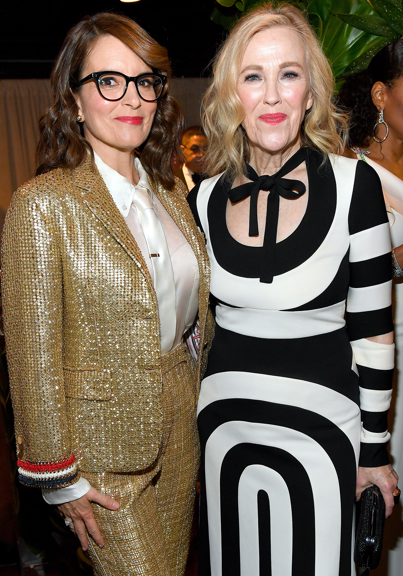 Tina Fey and Catherine O'Hara appear backstage during the 73rd Annual Tony Awards at Radio City Music Hall in New York City on June 9, 2019.